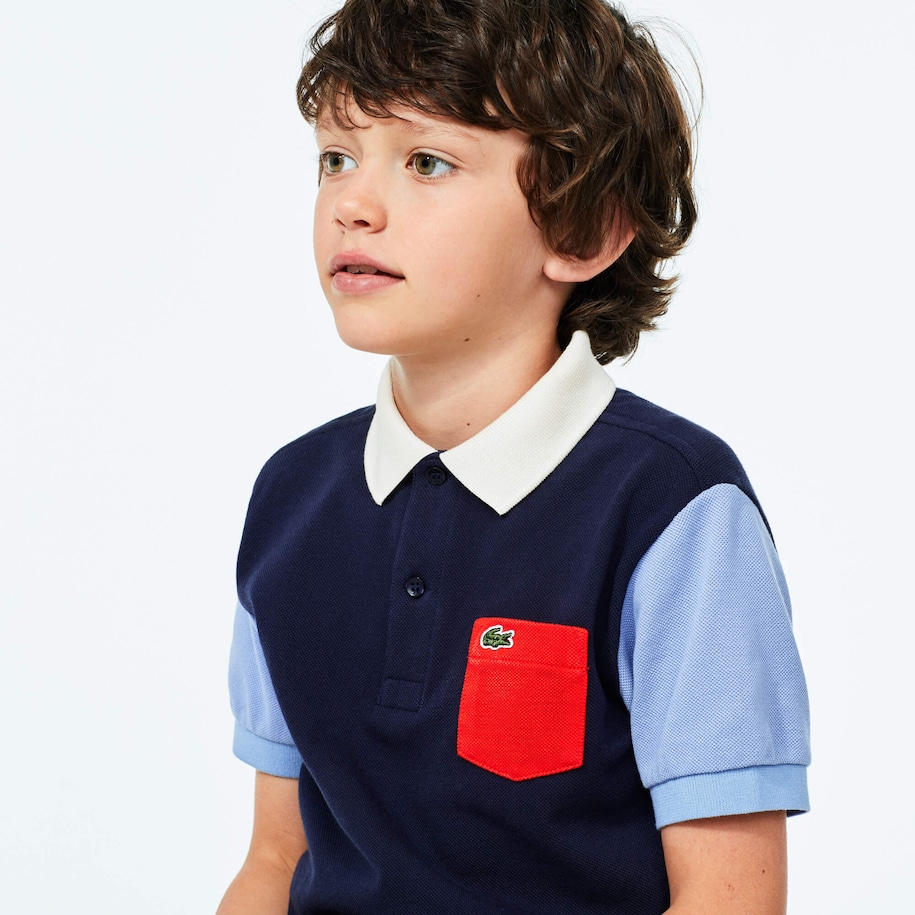 Boy's Lacoste Cotton Polo Shirt
