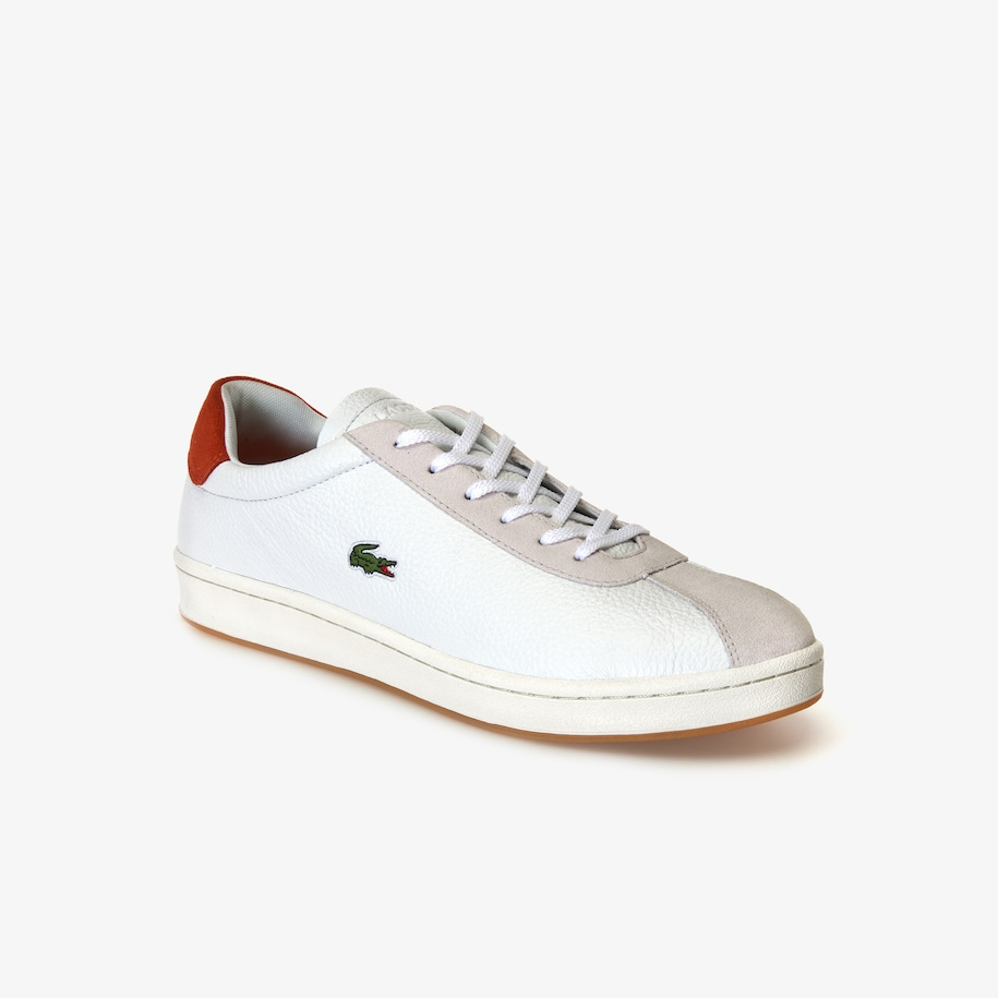 Men's Masters Leather and Suede Trainers