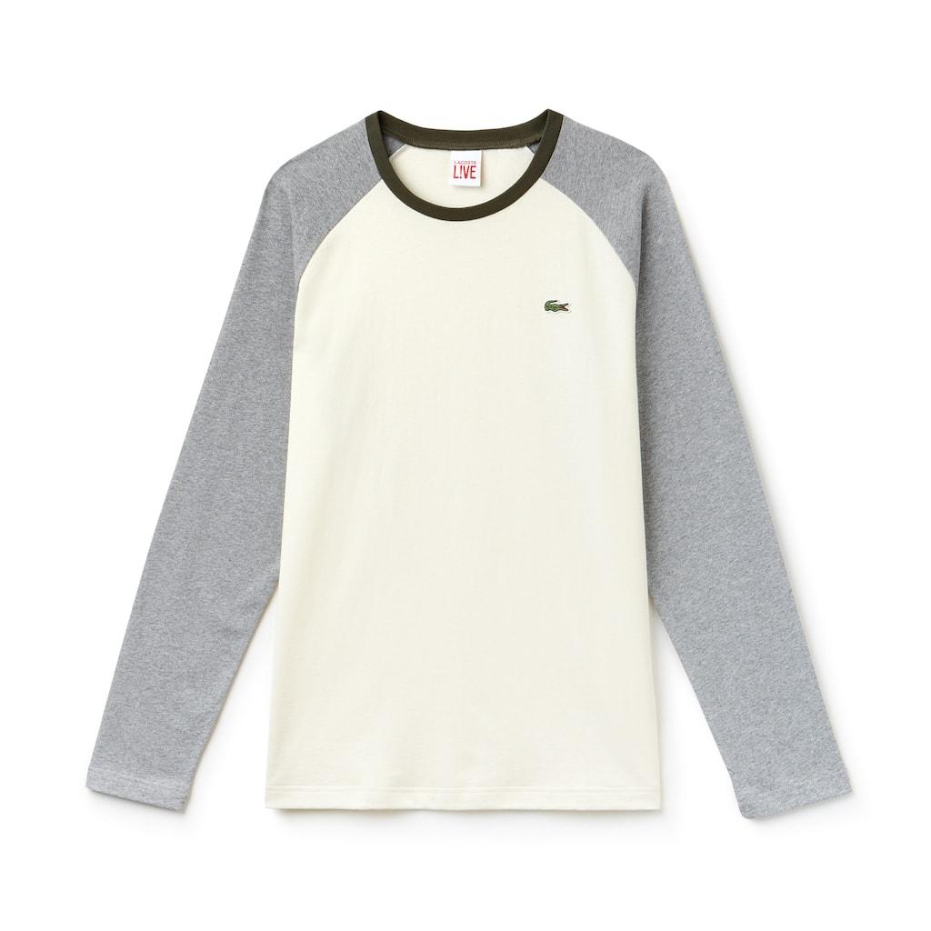 88a5a369cb0d76 Men s Lacoste LIVE Bicolor Jersey T-shirt