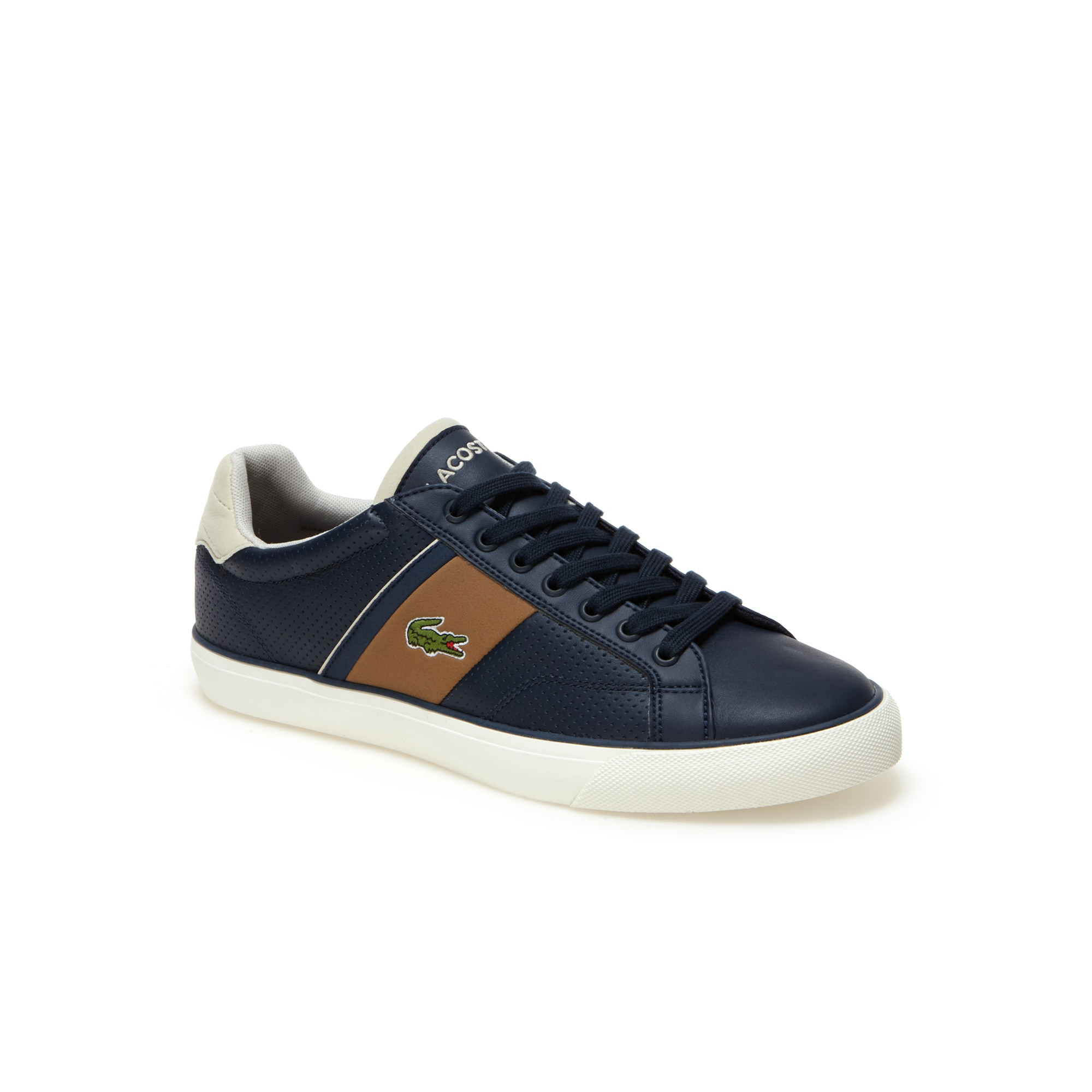 Mens Fairlead Leather Trainers 46000 AED 46000 AED Colour  NAVYLIGHT  BROWN