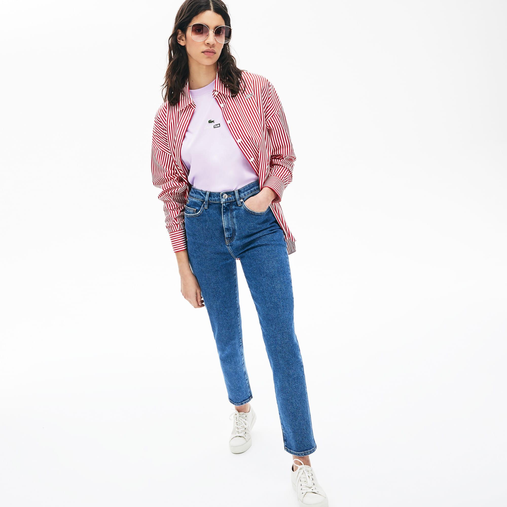 Damen-Jeans mit niedrigem Bund LACOSTE L!VE