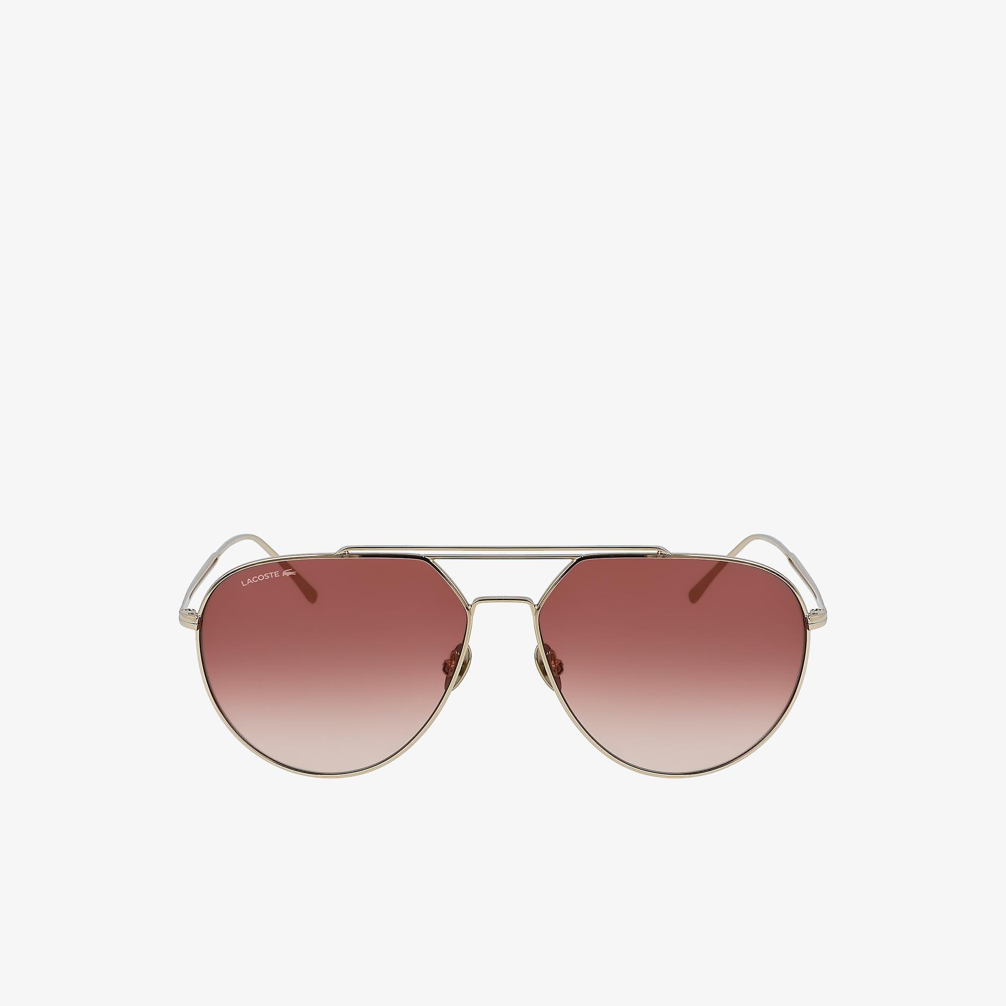 Paris Collection-Sonnenbrille mit Pilot-Metallrahmen