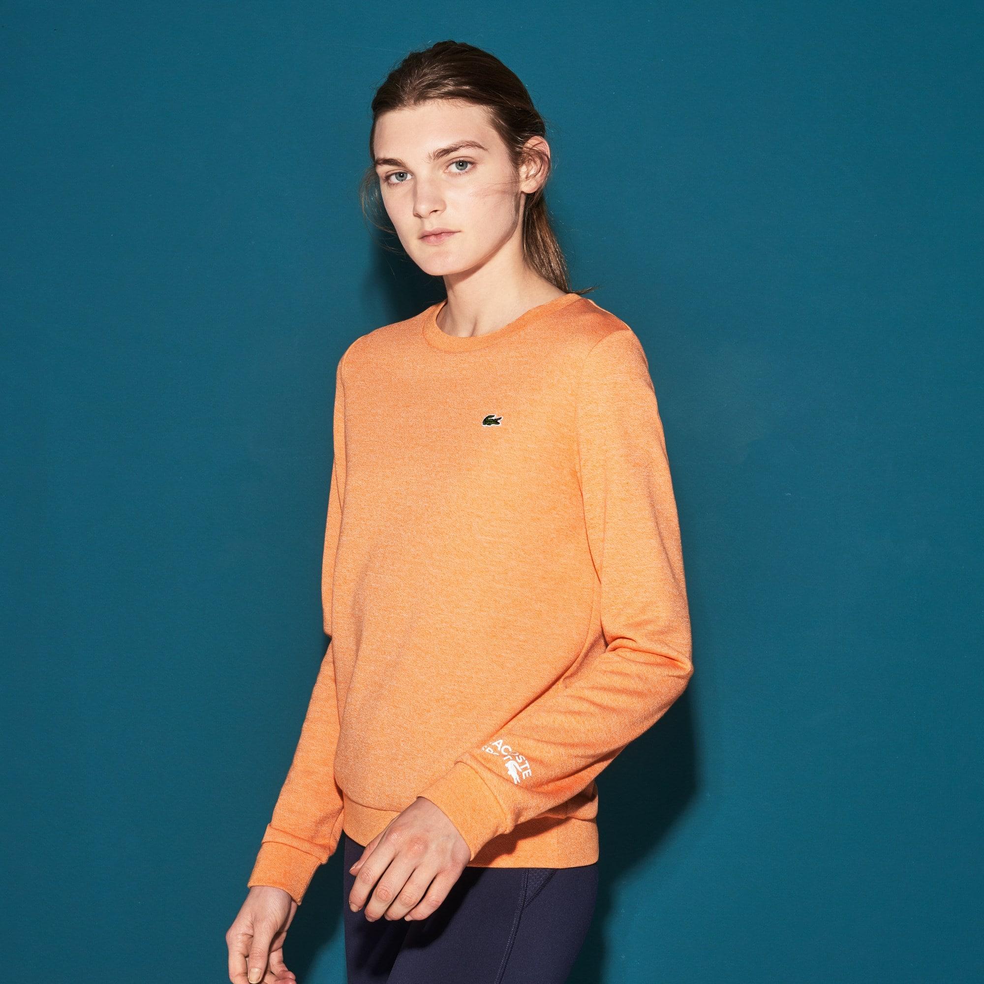 Jungen-Rundhals-Sweatshirt aus Fleece LACOSTE SPORT TENNIS