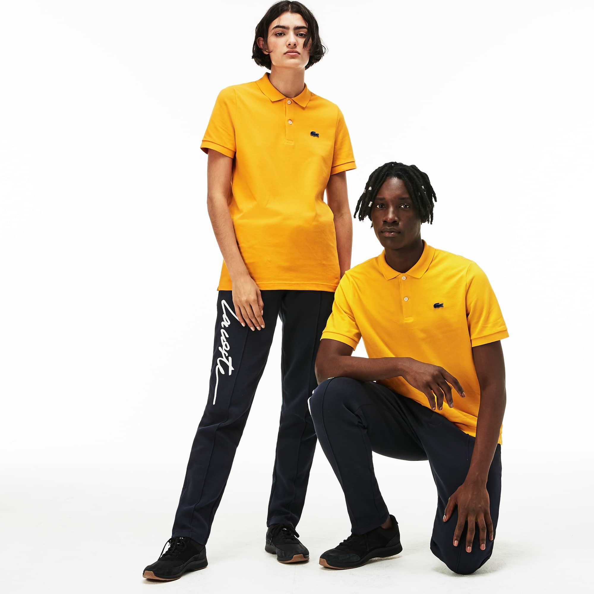 LACOSTE L!VE Stretch-Mini-Piqué Poloshirt für Sie und Ihn
