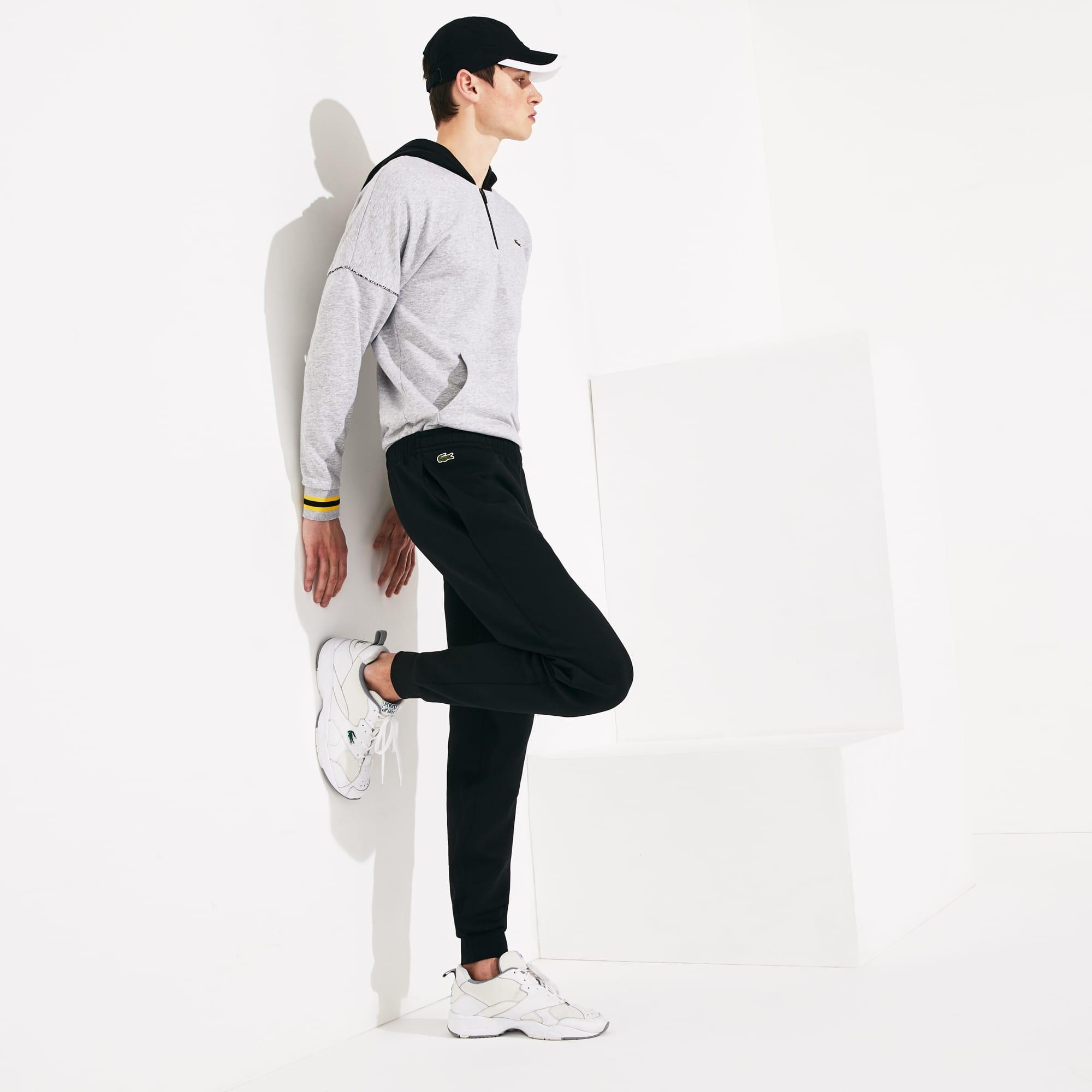 Herren-Trainingshose aus Baumwollfleece LACOSTESPORT TENNIS