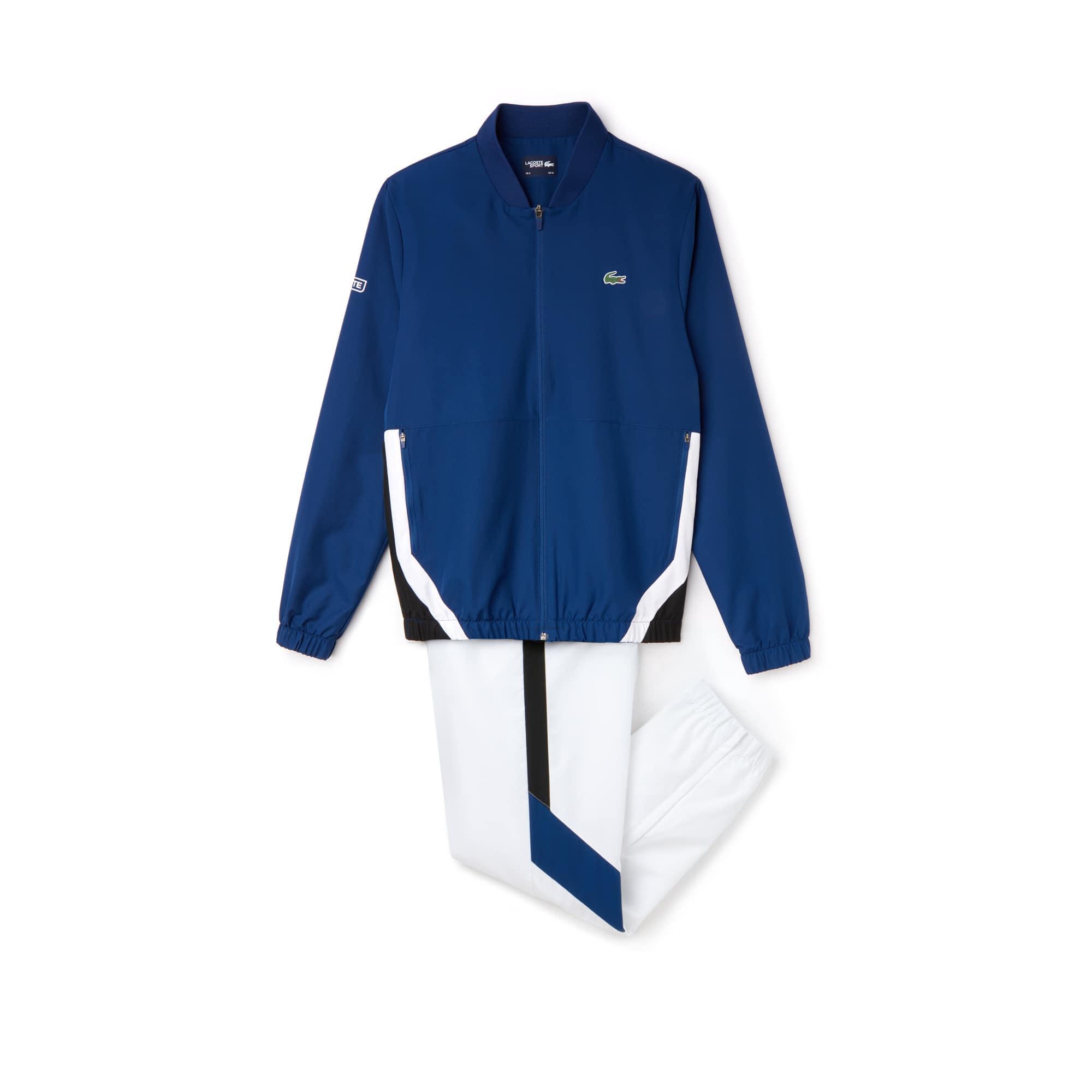 Herren LACOSTE SPORT Taft Trainingsanzug mit Colorblocks