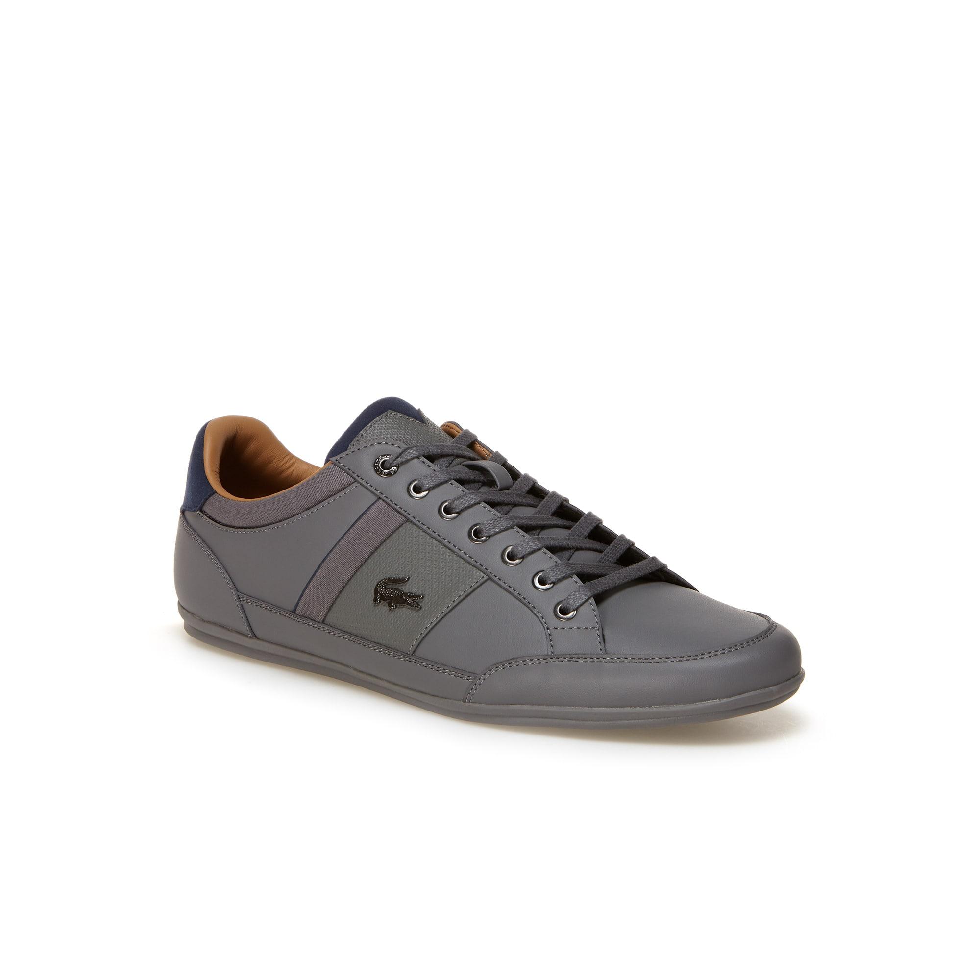 Herren-Sneakers CHAYMON aus Nappaleder, Veloursleder und Canvas