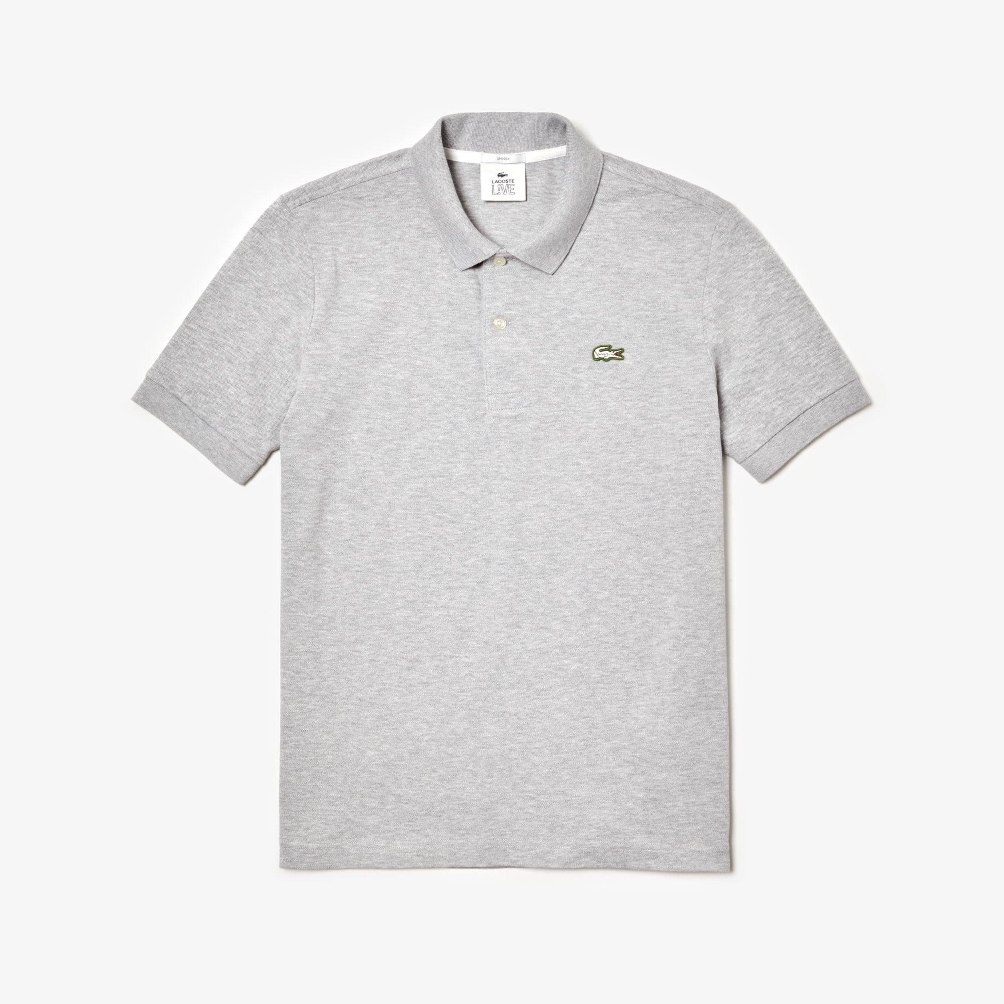 LACOSTE L!VE Stretch-Piqué Poloshirt für Sie und Ihn