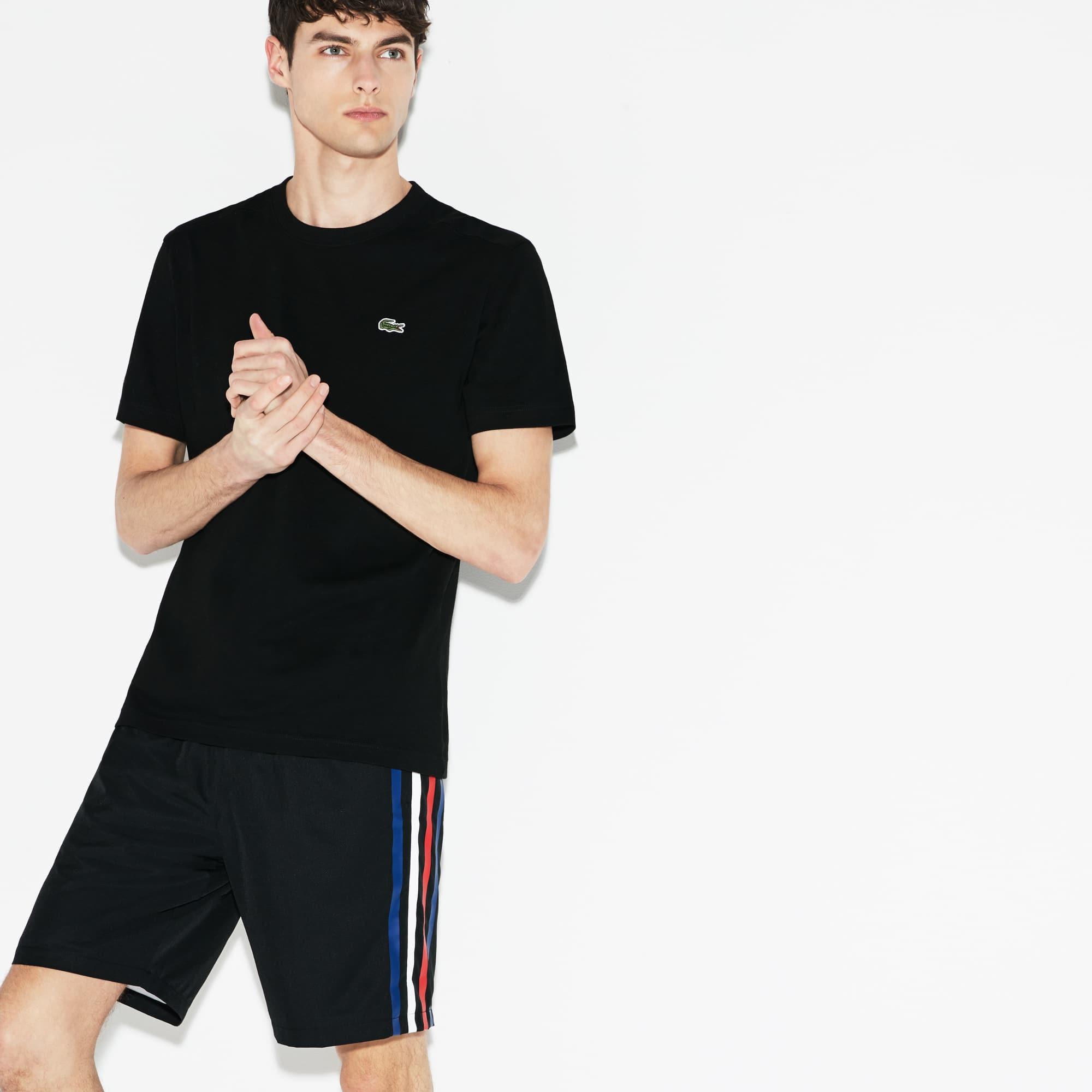 Herren LACOSTE SPORT Taft-Shorts mit Farbstreifen