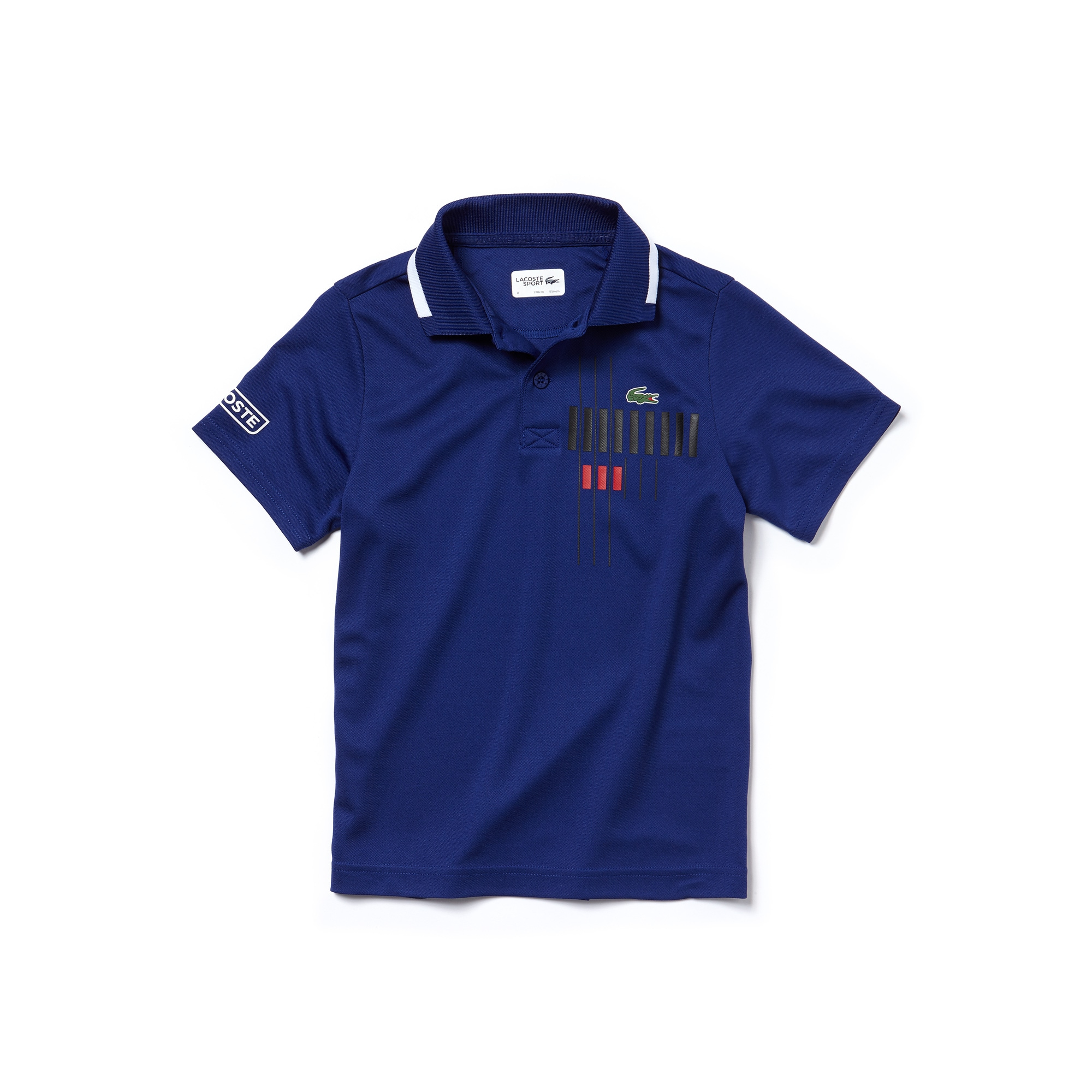 Jungen-Poloshirt aus Funktionspiqué LACOSTE SPORT TENNIS