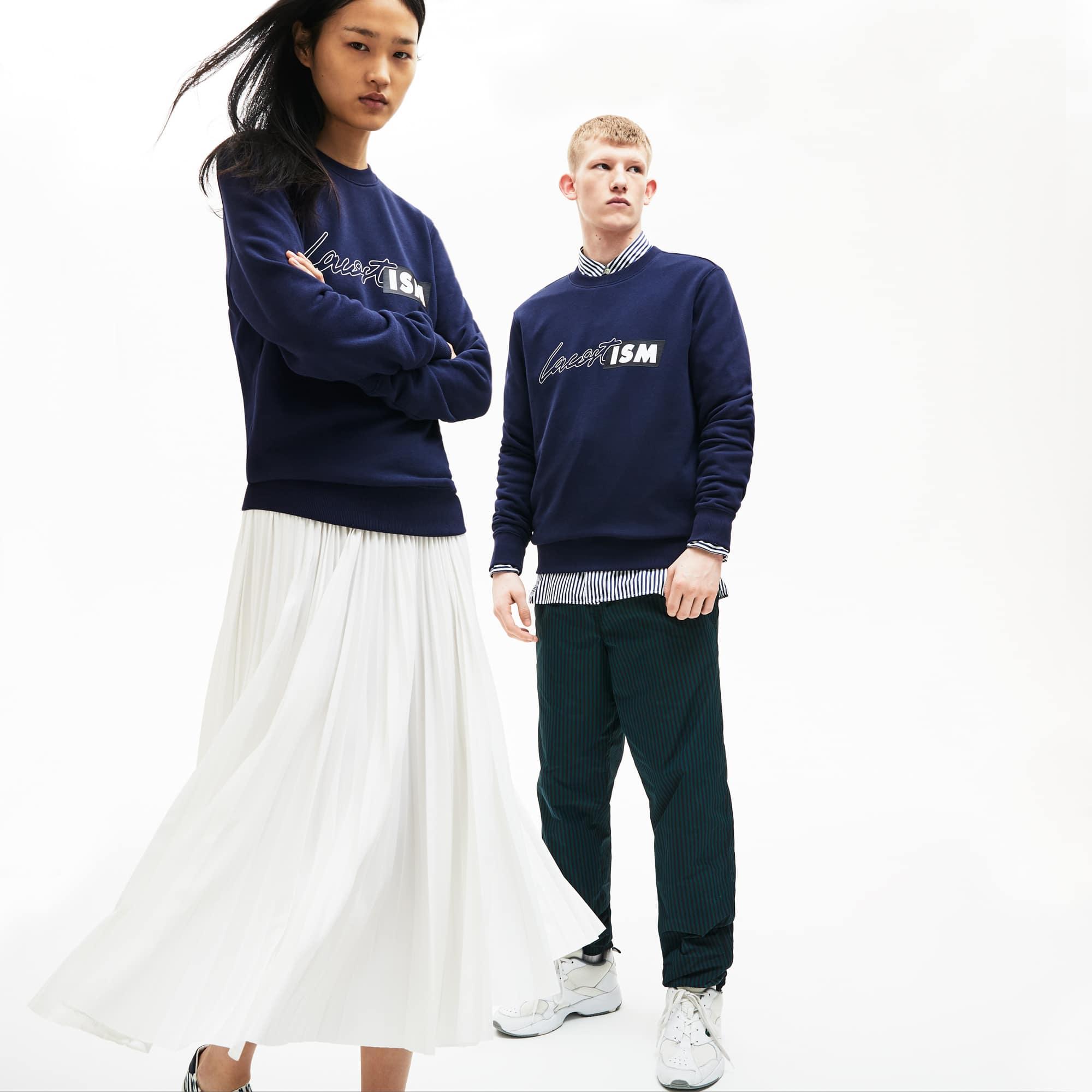 Sweatshirt mit Lacostism-Aufdruck LACOSTE L!VE