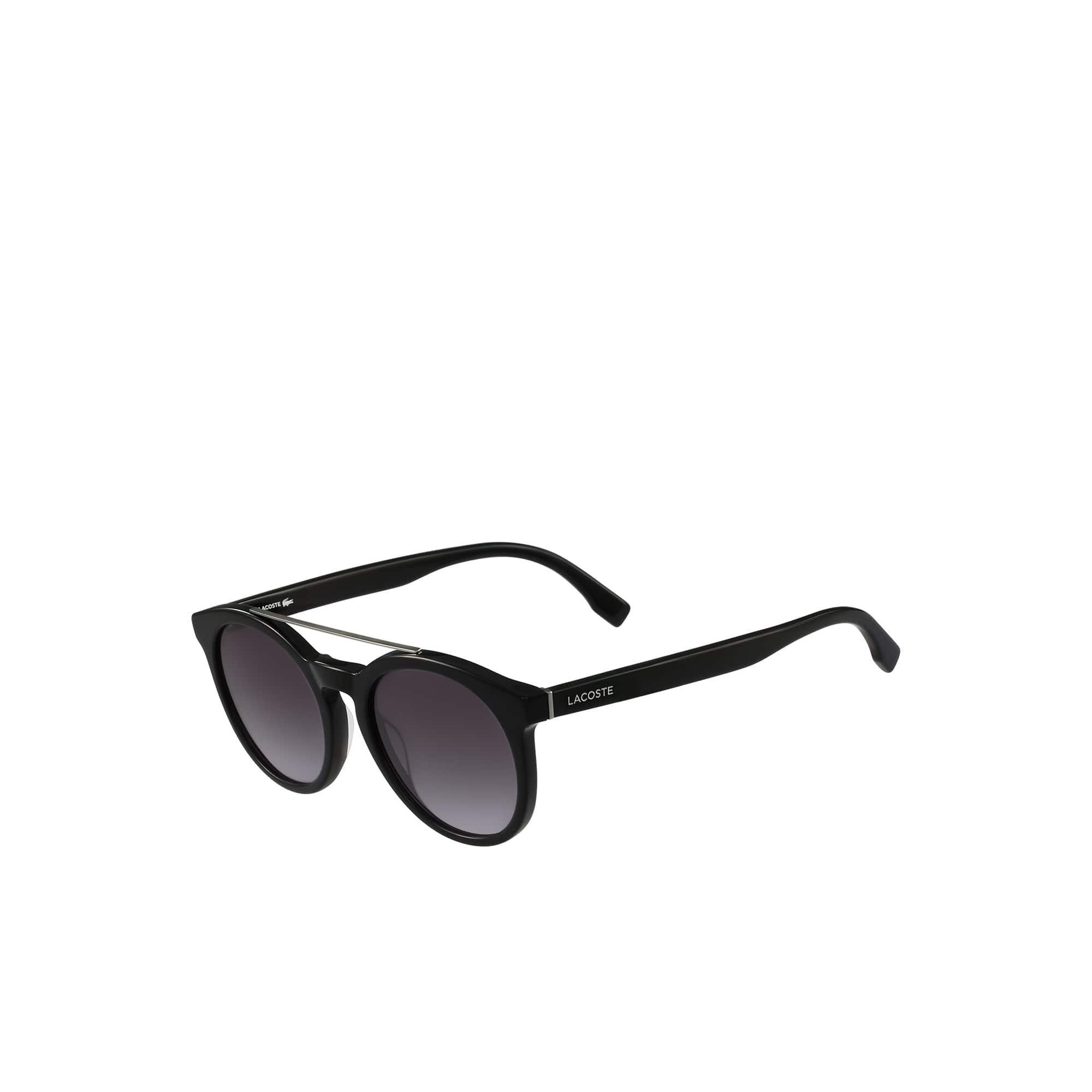 Unisex-Schildpatt-Sonnenbrille im Retro-Look