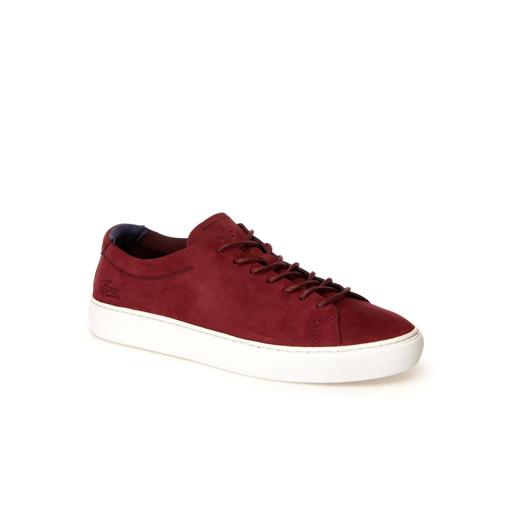 Herren-Sneakers L.12.12 UNLINED aus Nubukleder