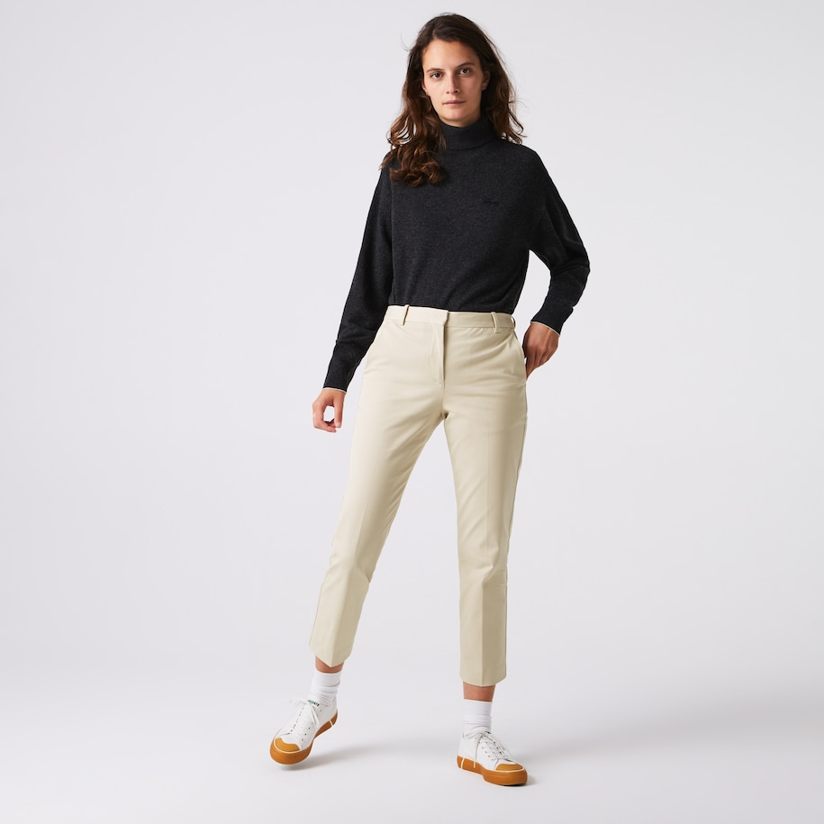 Damen Chinos aus Stretch-Baumwolle