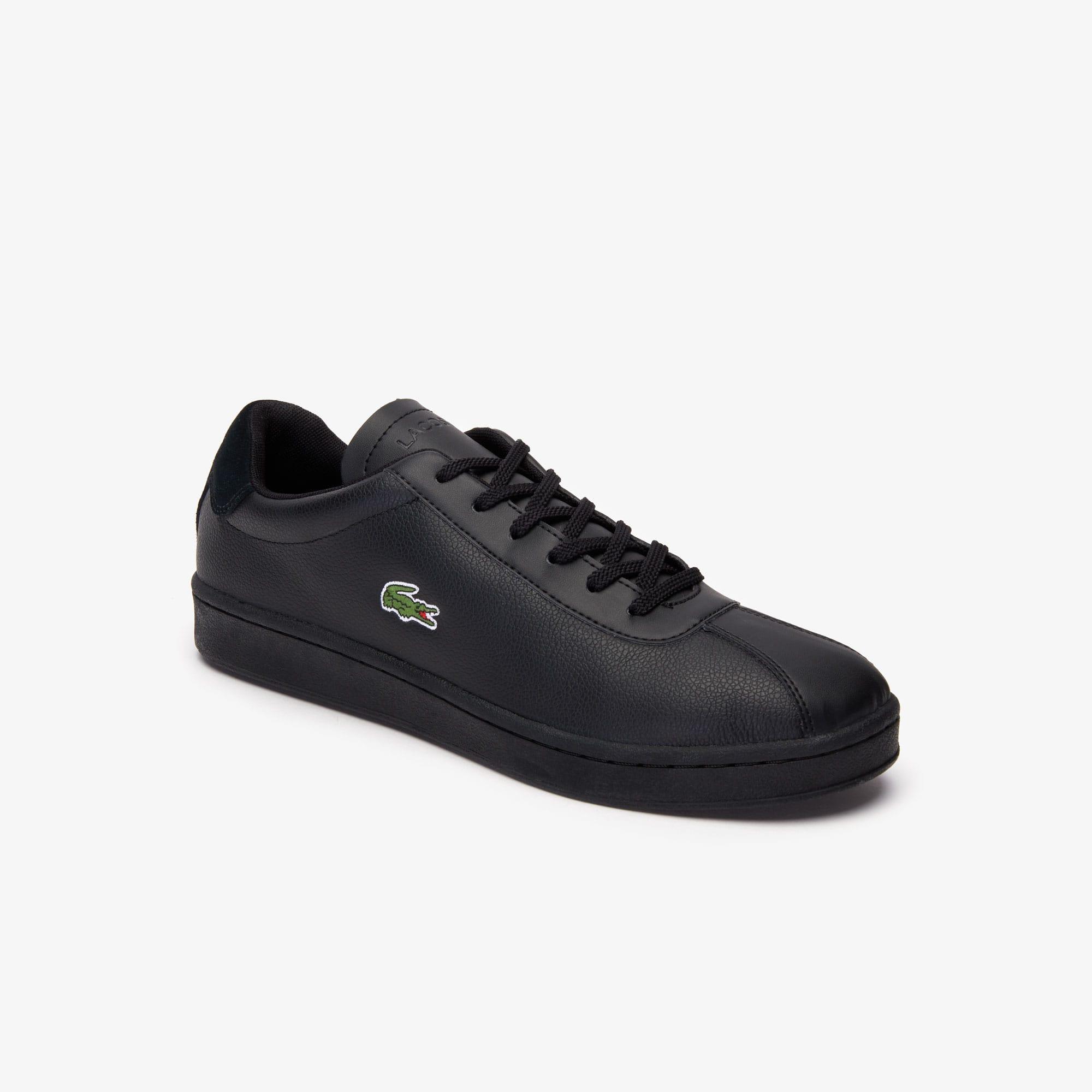 new product 605d4 f237a Herren-Sneakers MASTERS aus gewalktem Leder und Synthetik