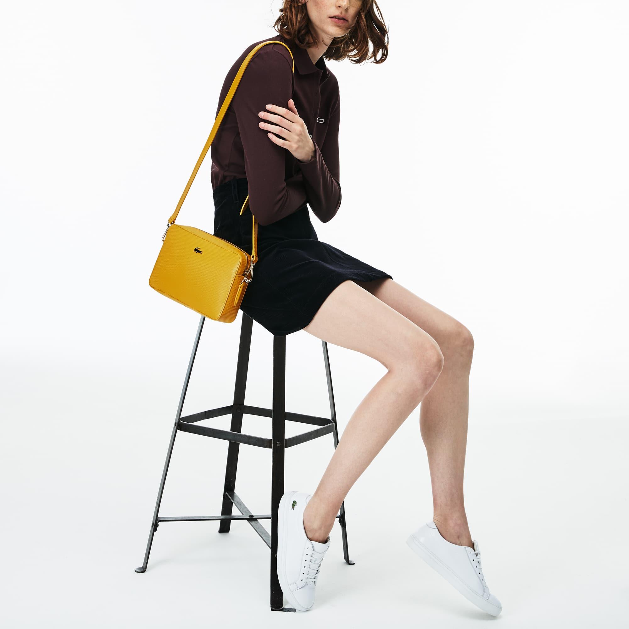 Damen CHANTACO Tasche aus Piqué-Leder