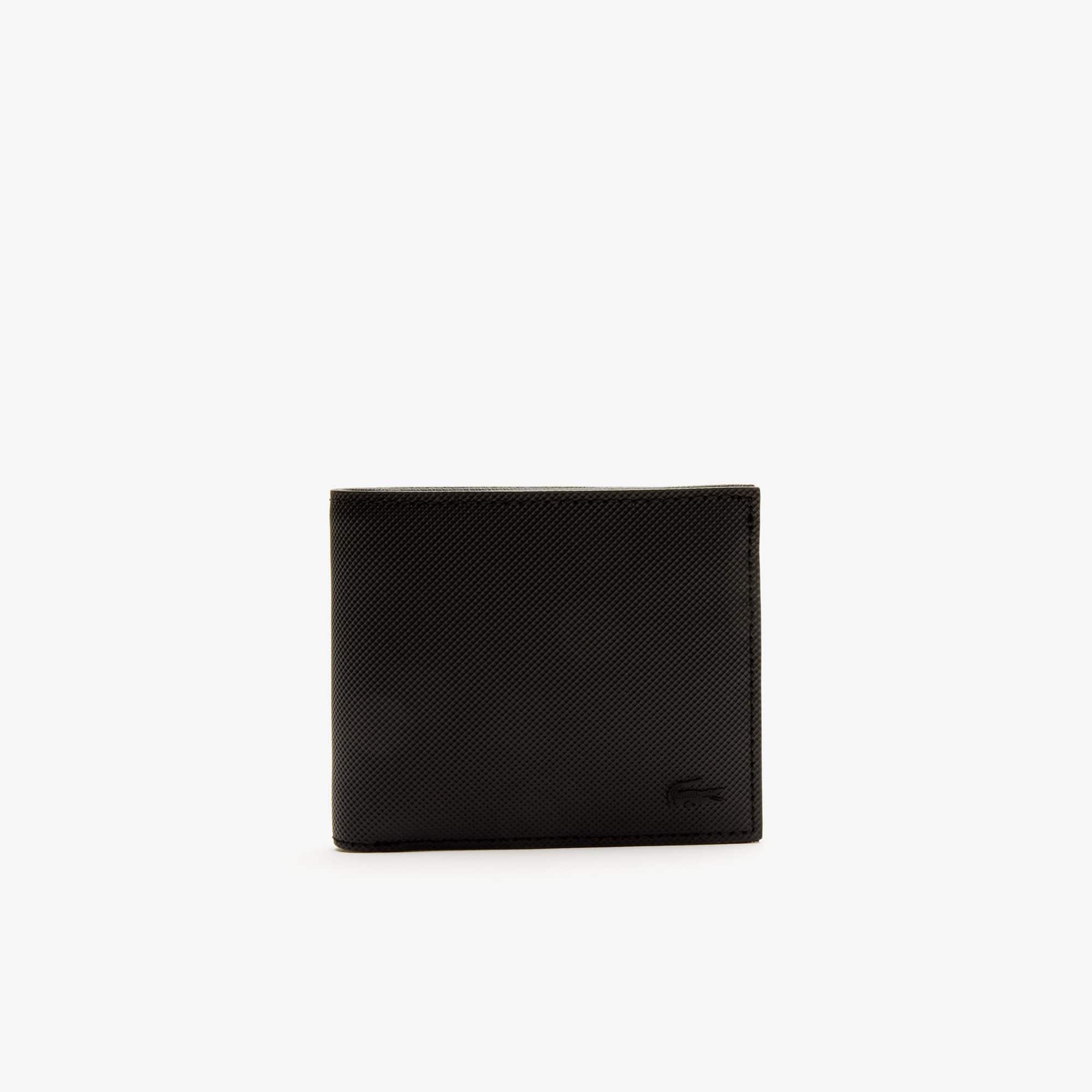 Herren-Brieftasche CLASSIC für drei Karten aus Petit Piqué