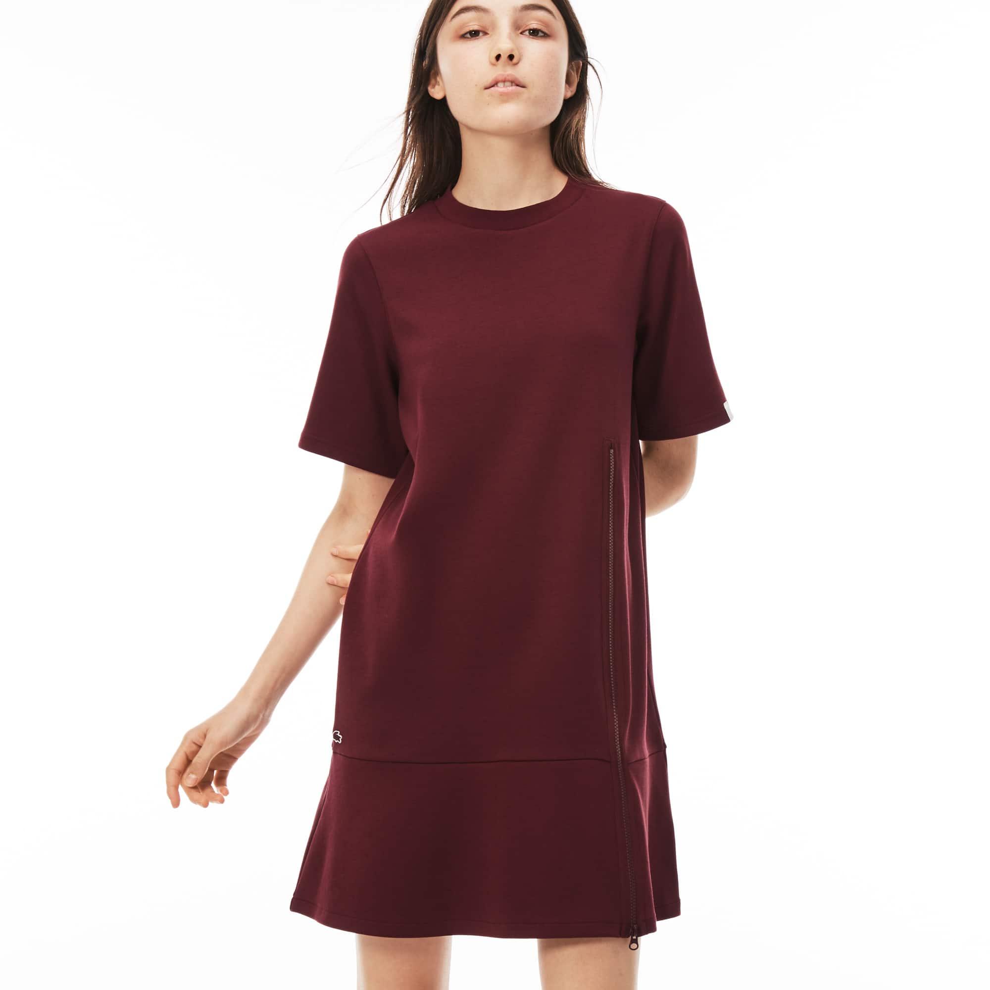 Damen-Sweatshirtkleid mit Reißverschluss LACOSTE L!VE