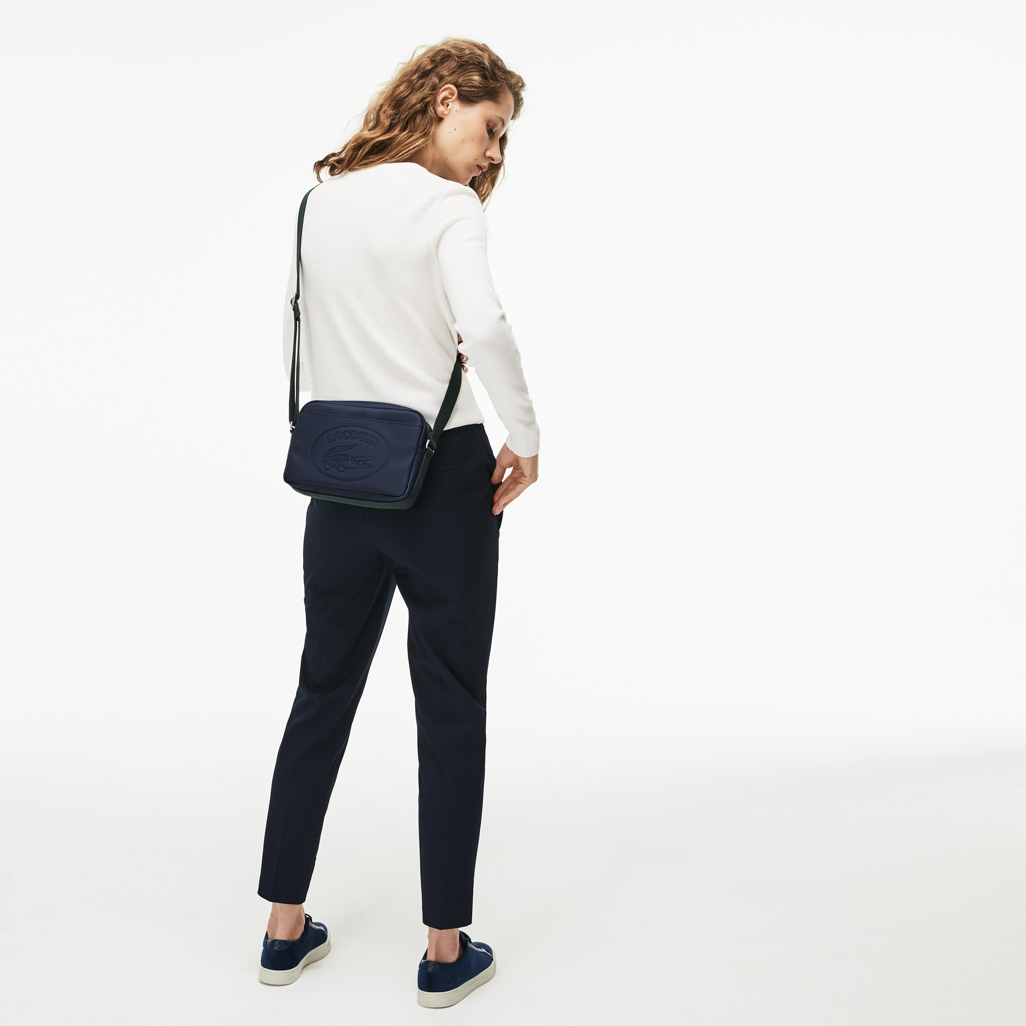 Damen CLASSIC zweifarbige Schultertasche