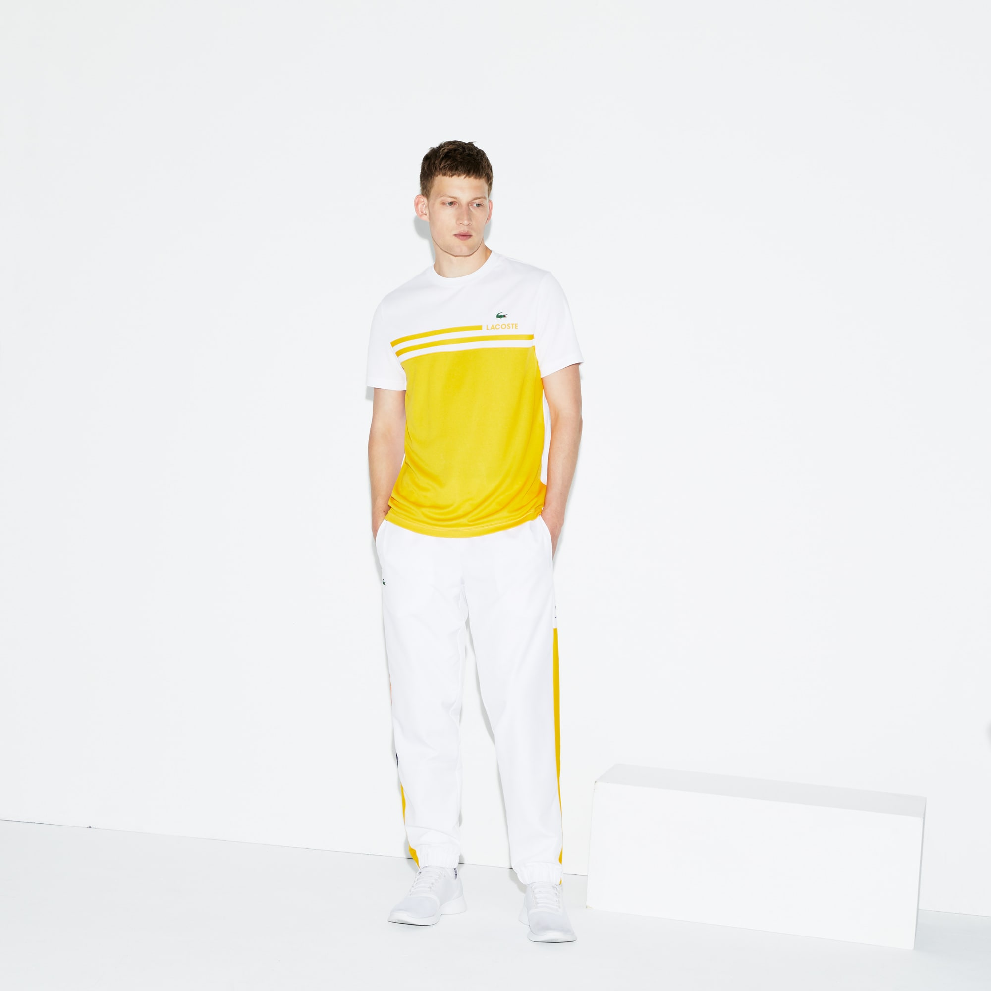 Herren-Trainingshose im Colorblock-Design LACOSTE SPORT TENNIS