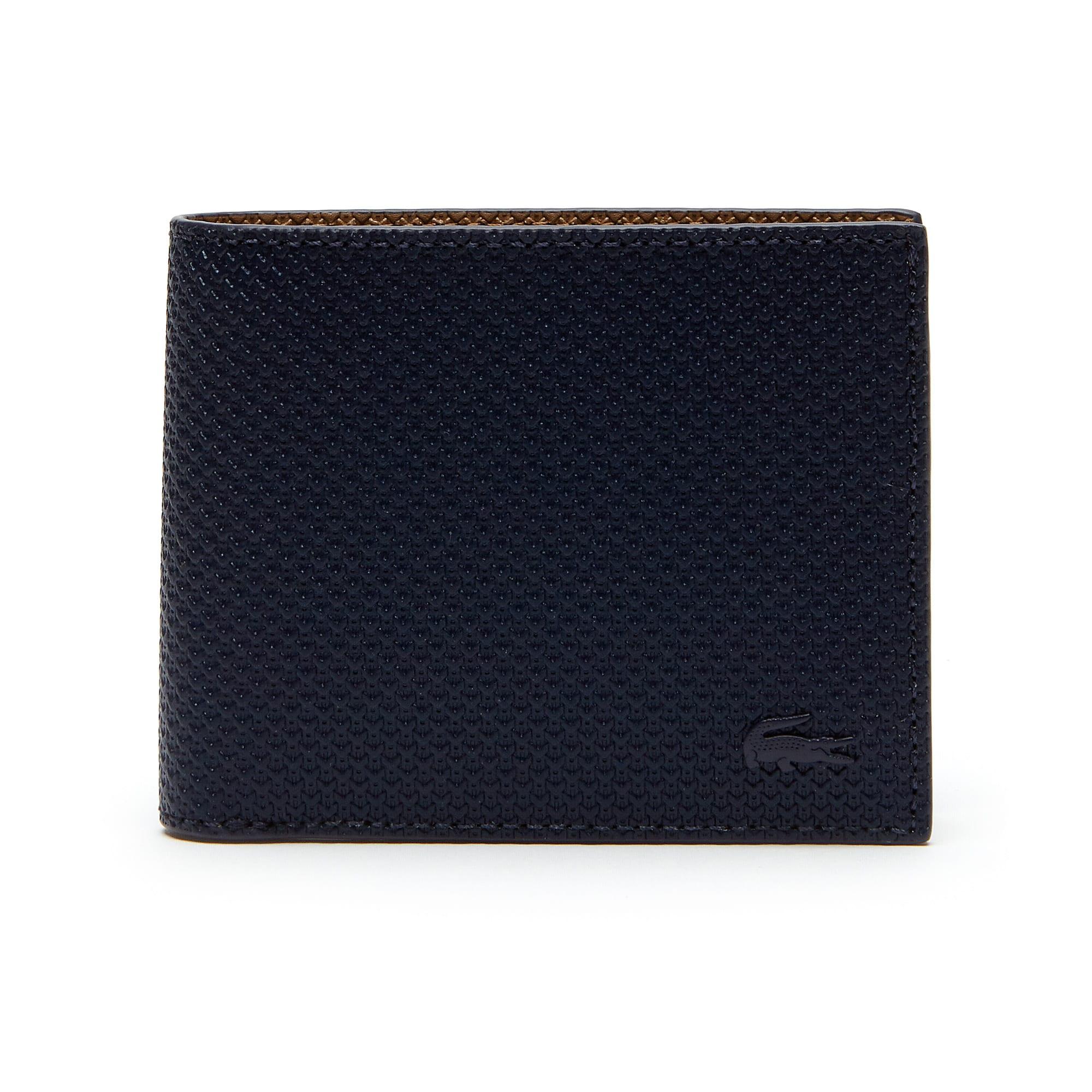 Herren Chantaco Flache Brieftasche Beschichtetes Leder Einfarbig