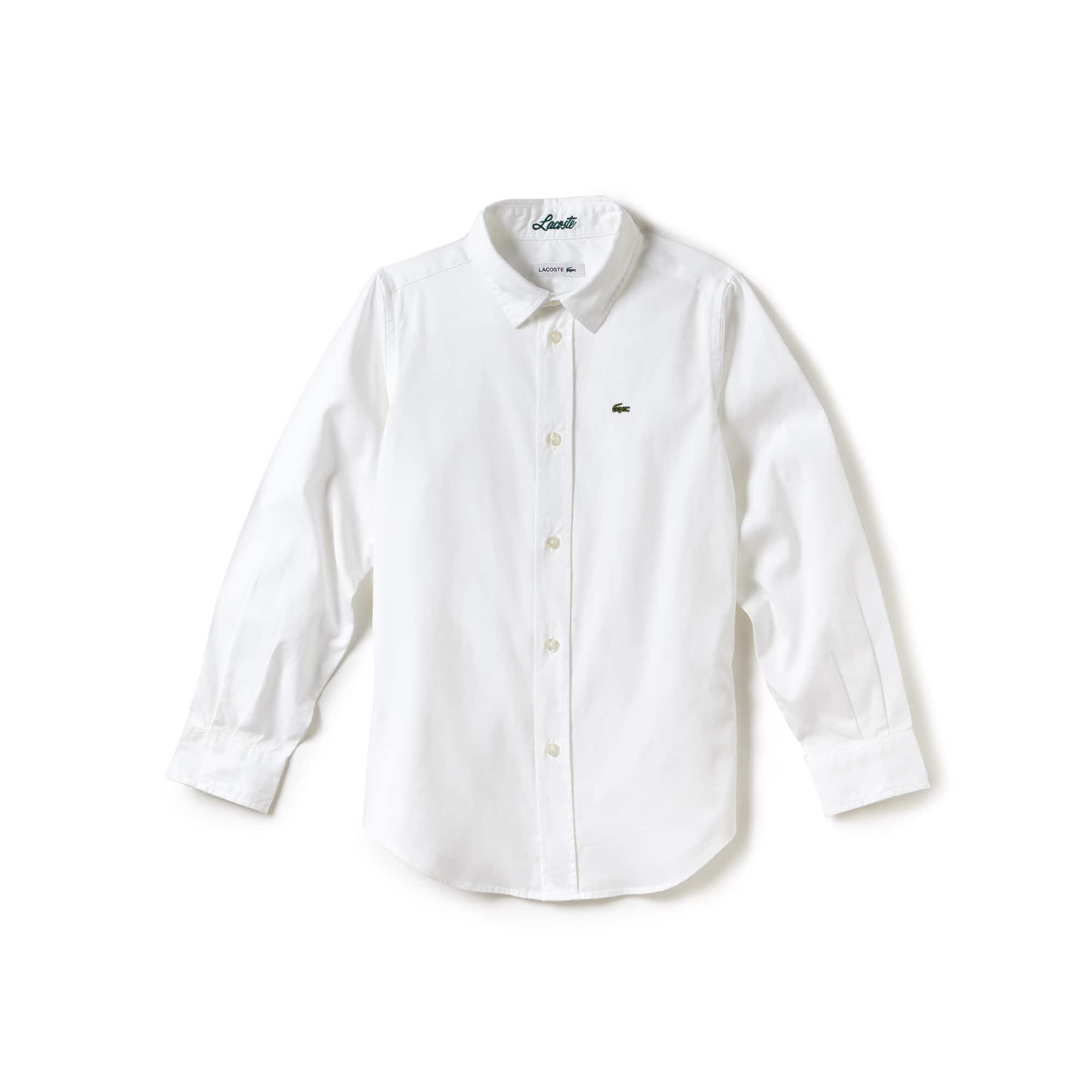 Kinder-Hemd aus Oxford-Baumwoll-Strickware