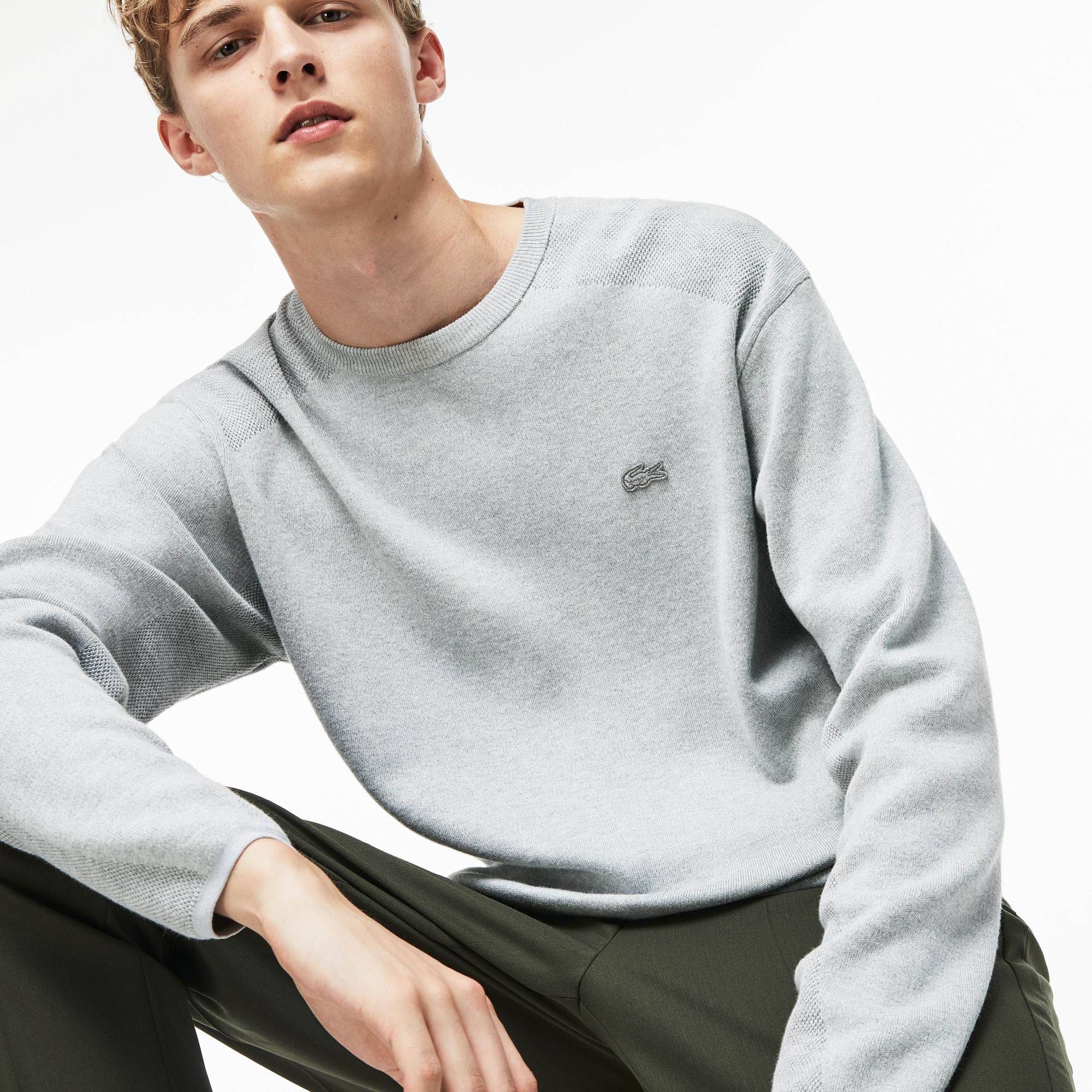 Herren LACOSTE MOTION Baumwoll-Sweatshirt