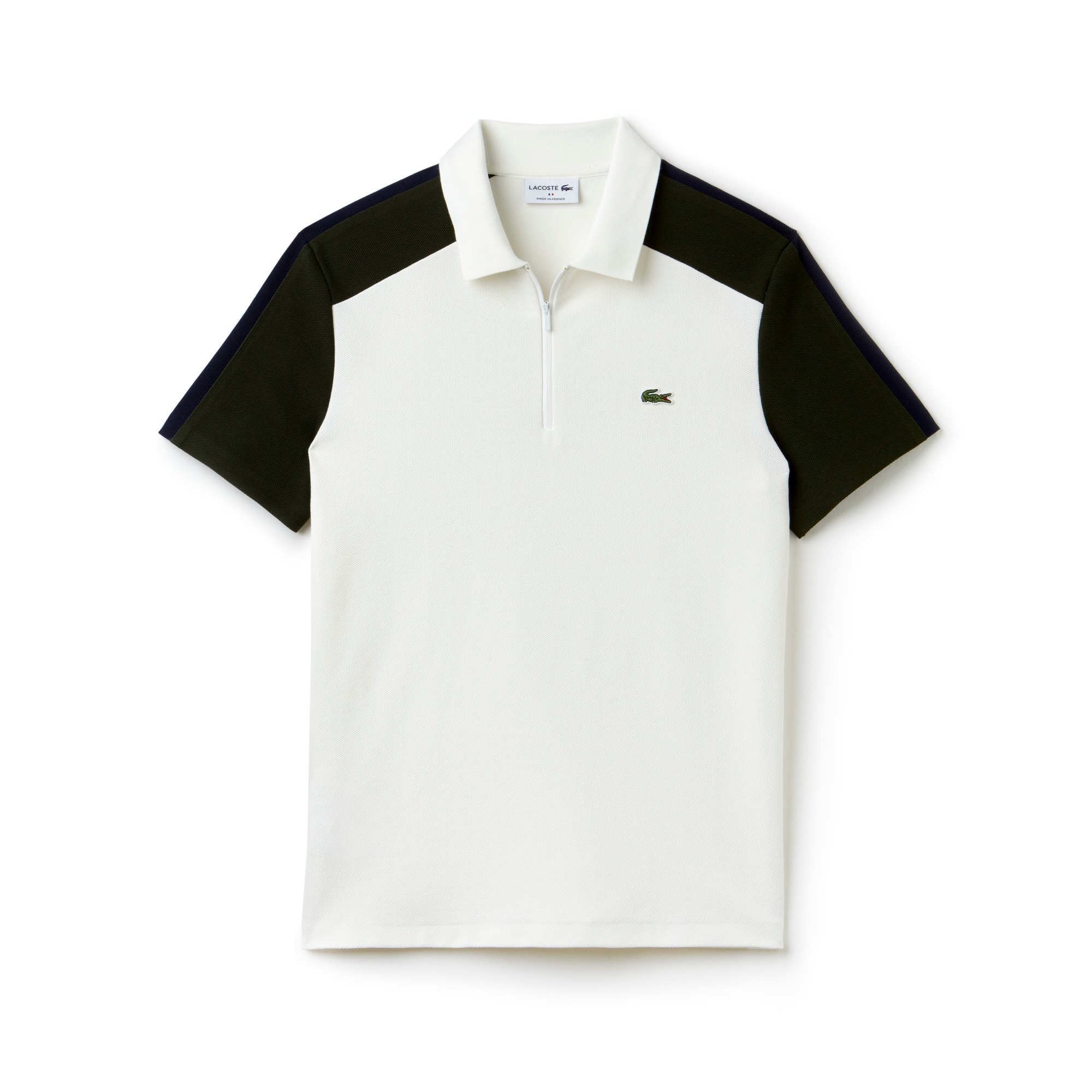Regular Fit Herren-Polo aus Piqué LACOSTE MADE IN FRANCE