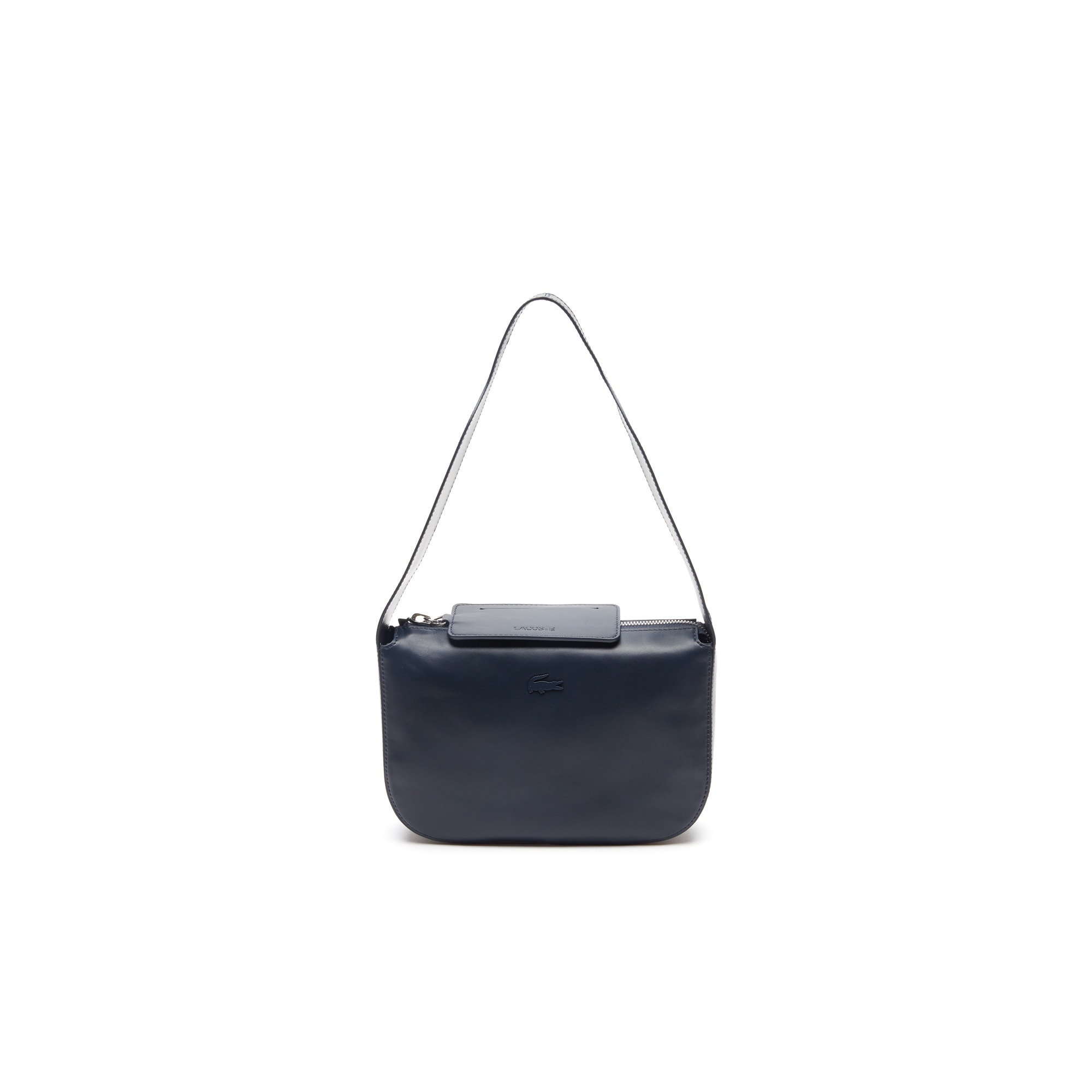 Einfarbige Damen Mini Hobo-Bag Purity Soft aus Leder