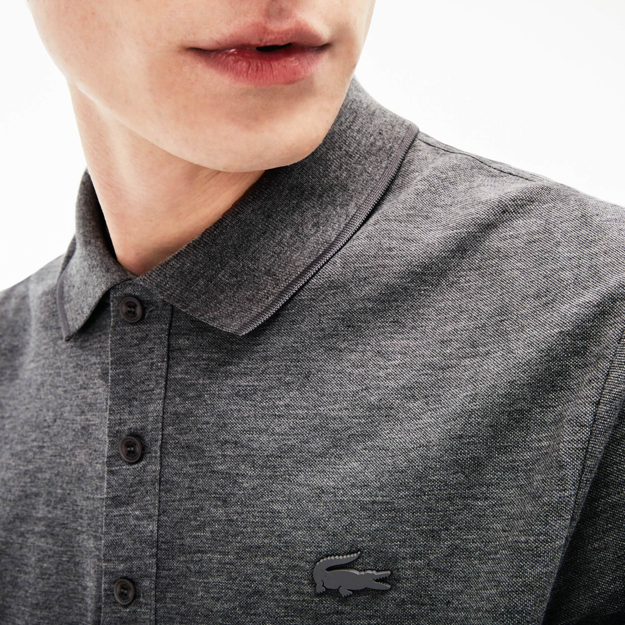 Regular Fit Herren-Poloshirt MOTION aus Pima-Baumwoll-Piqué