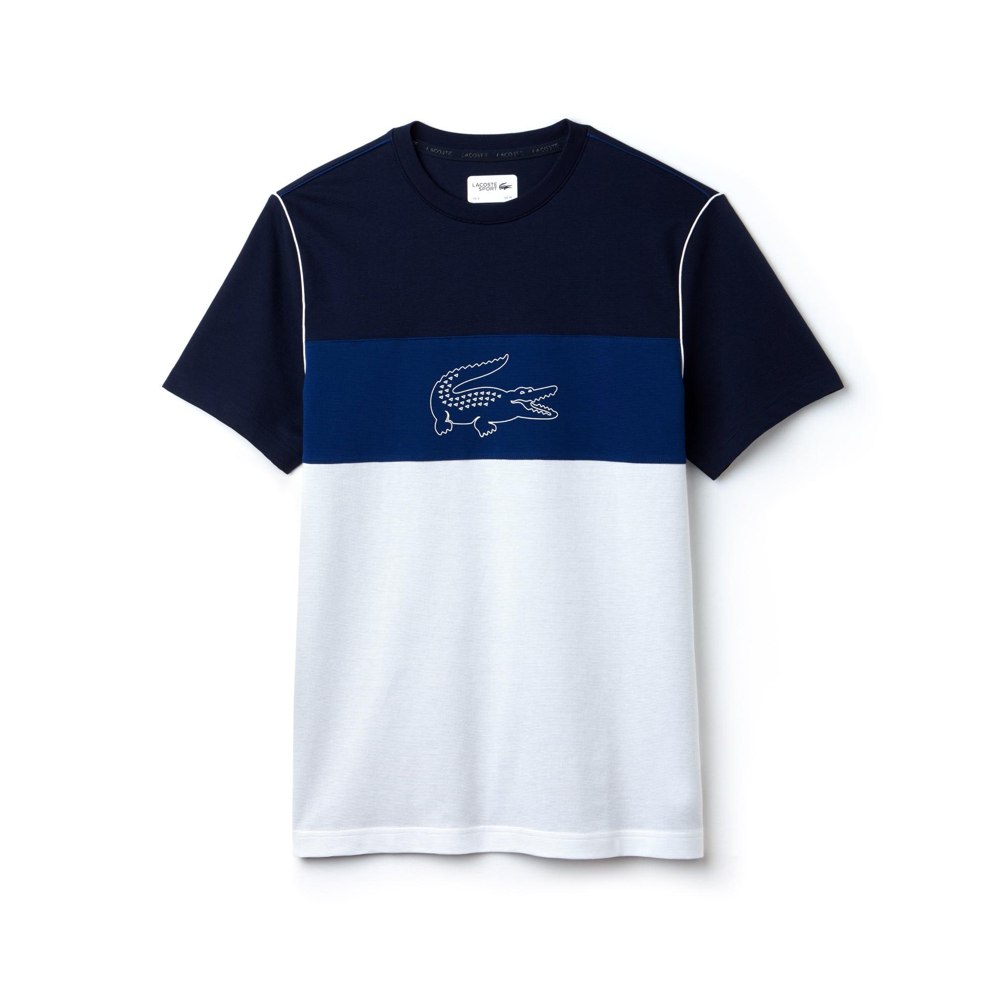 Herren LACOSTE SPORT T-Shirt mit Colorblocks
