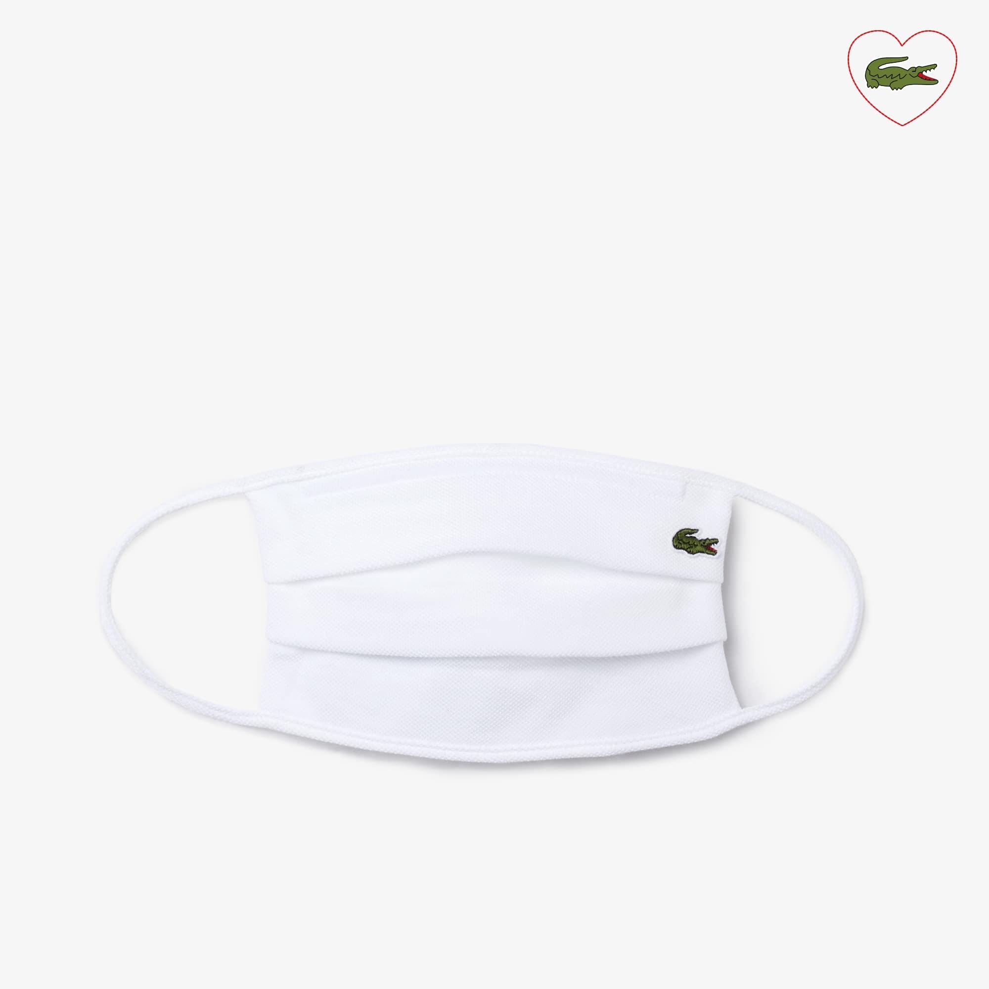 Die L.12.12 Maske aus Baumwoll-Piqué