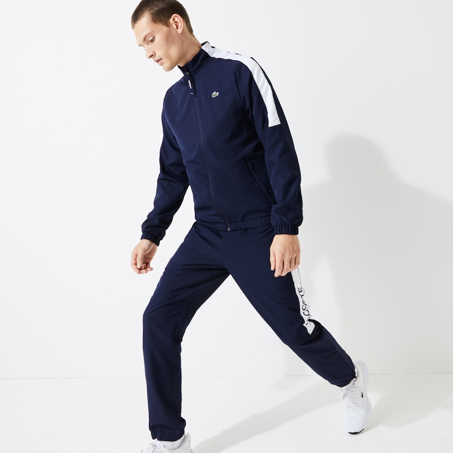 Herren-Trainingsanzug im Colorblock-Design LACOSTE SPORT
