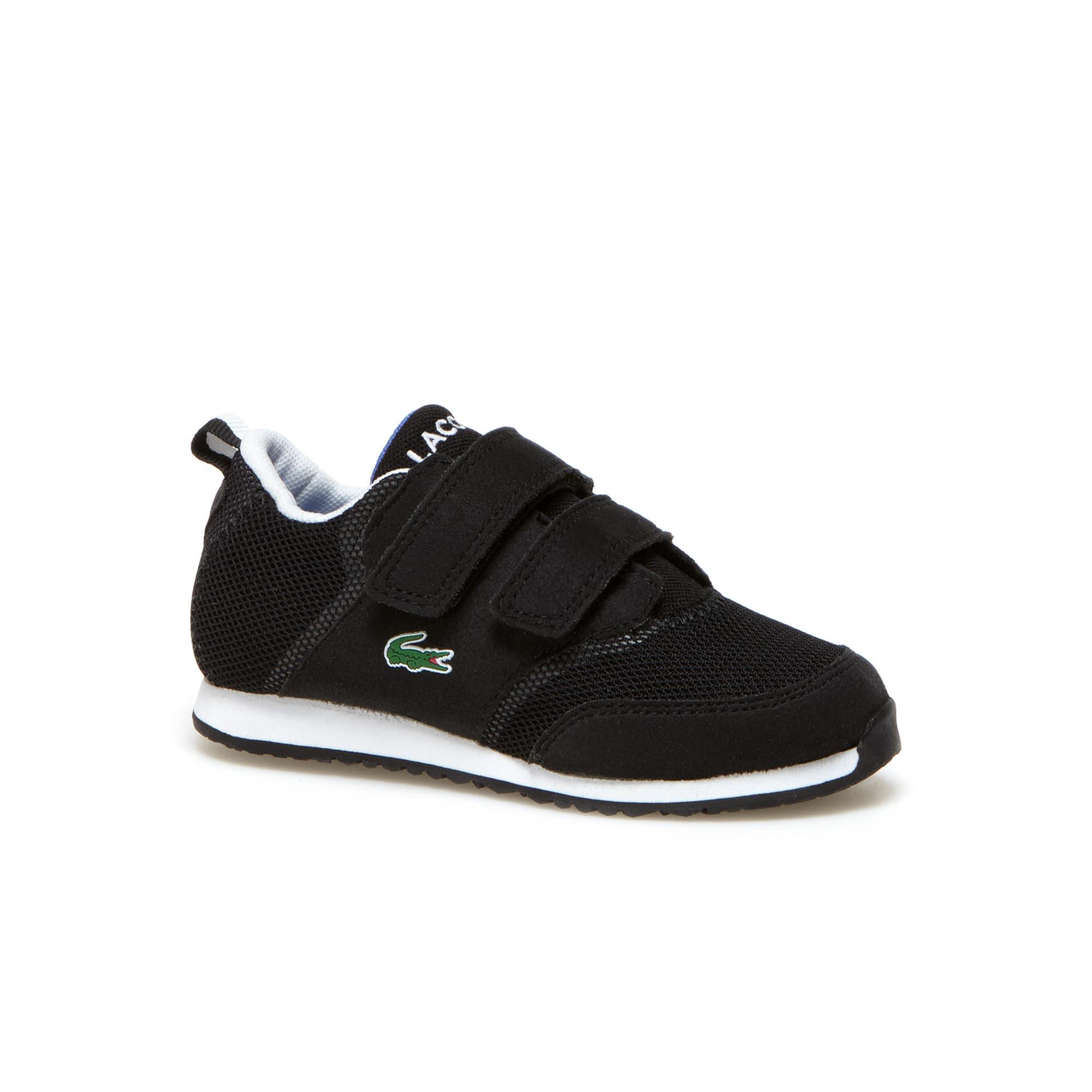 Kids' L.IGHT Breathable Canvas Double Klettverschluss Strap Sneakers
