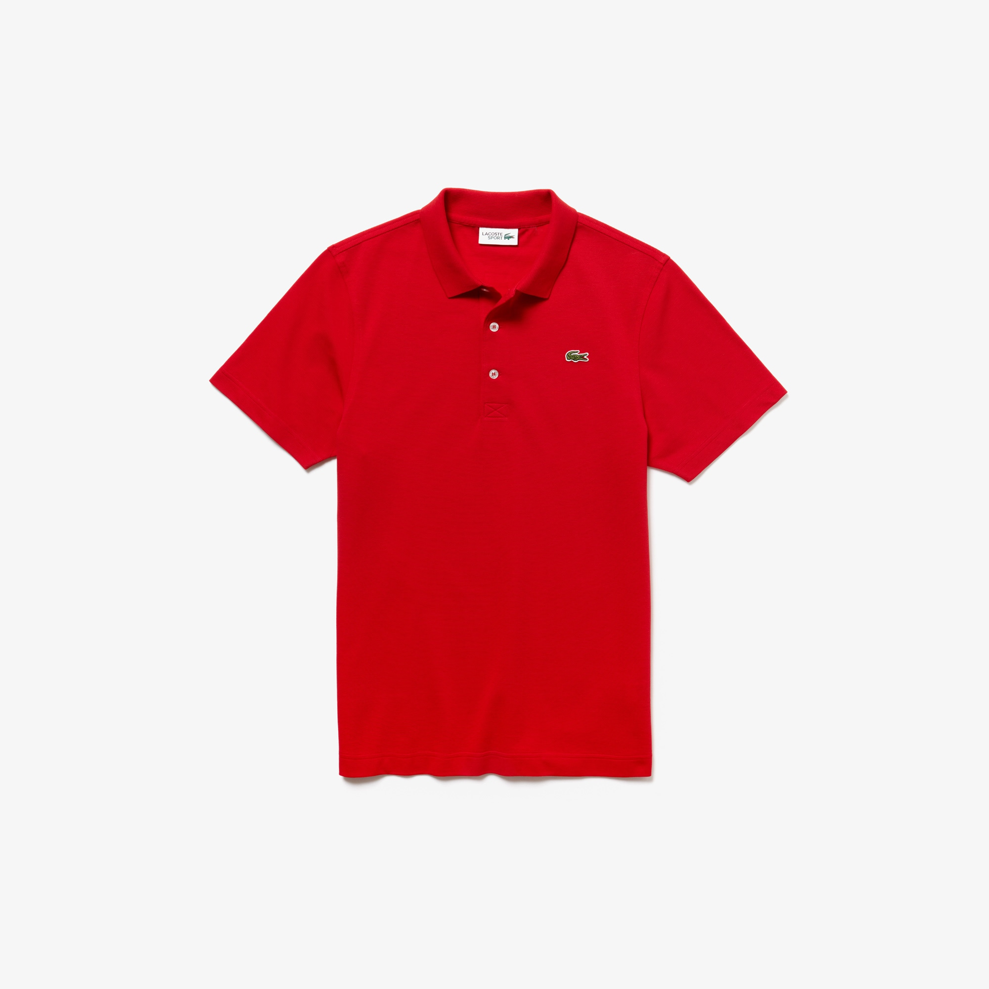 Regular Fit Polo aus ultra-leichter Strickware LACOSTE SPORT