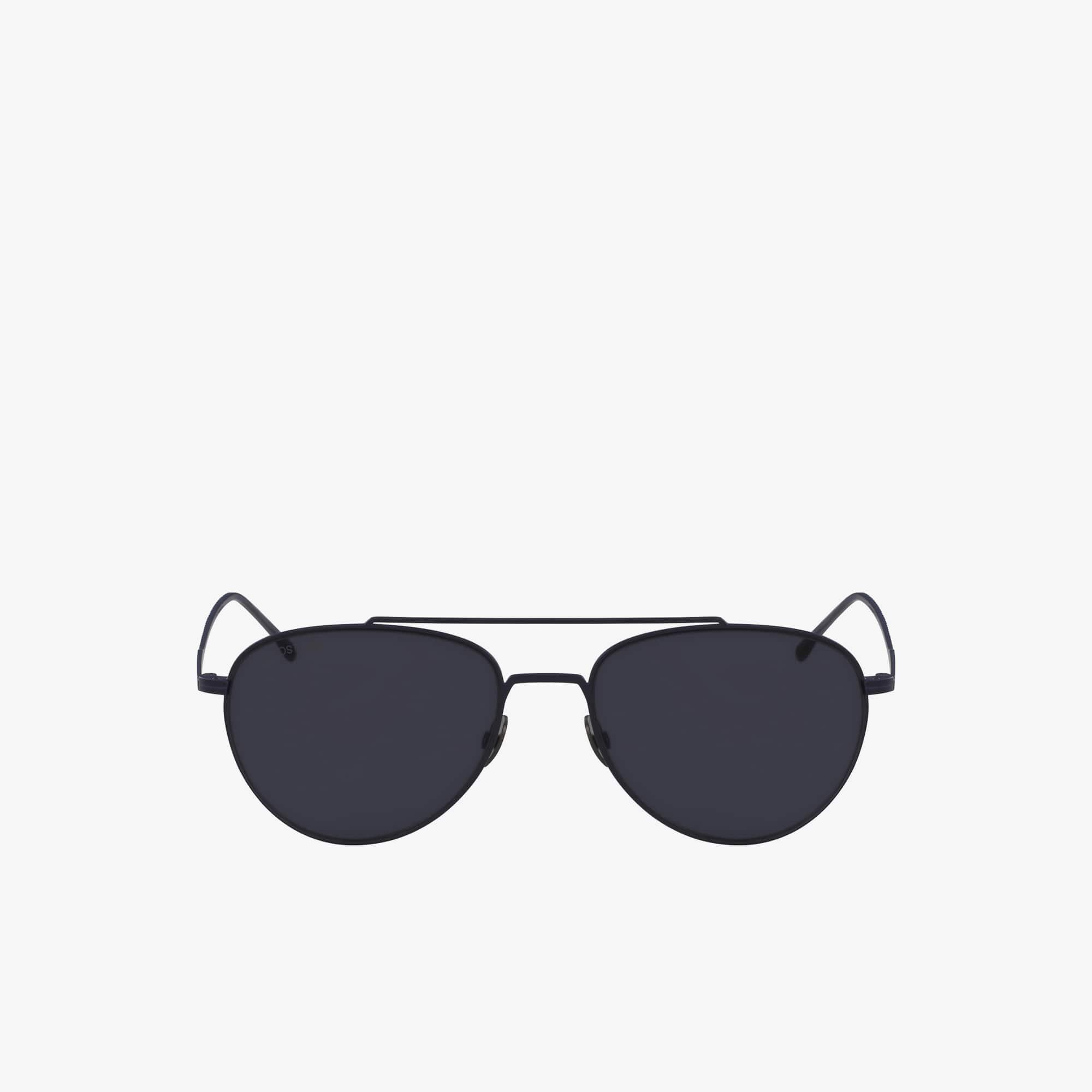 Piloten-Sonnenbrille mit extradünnem Metallrahmen