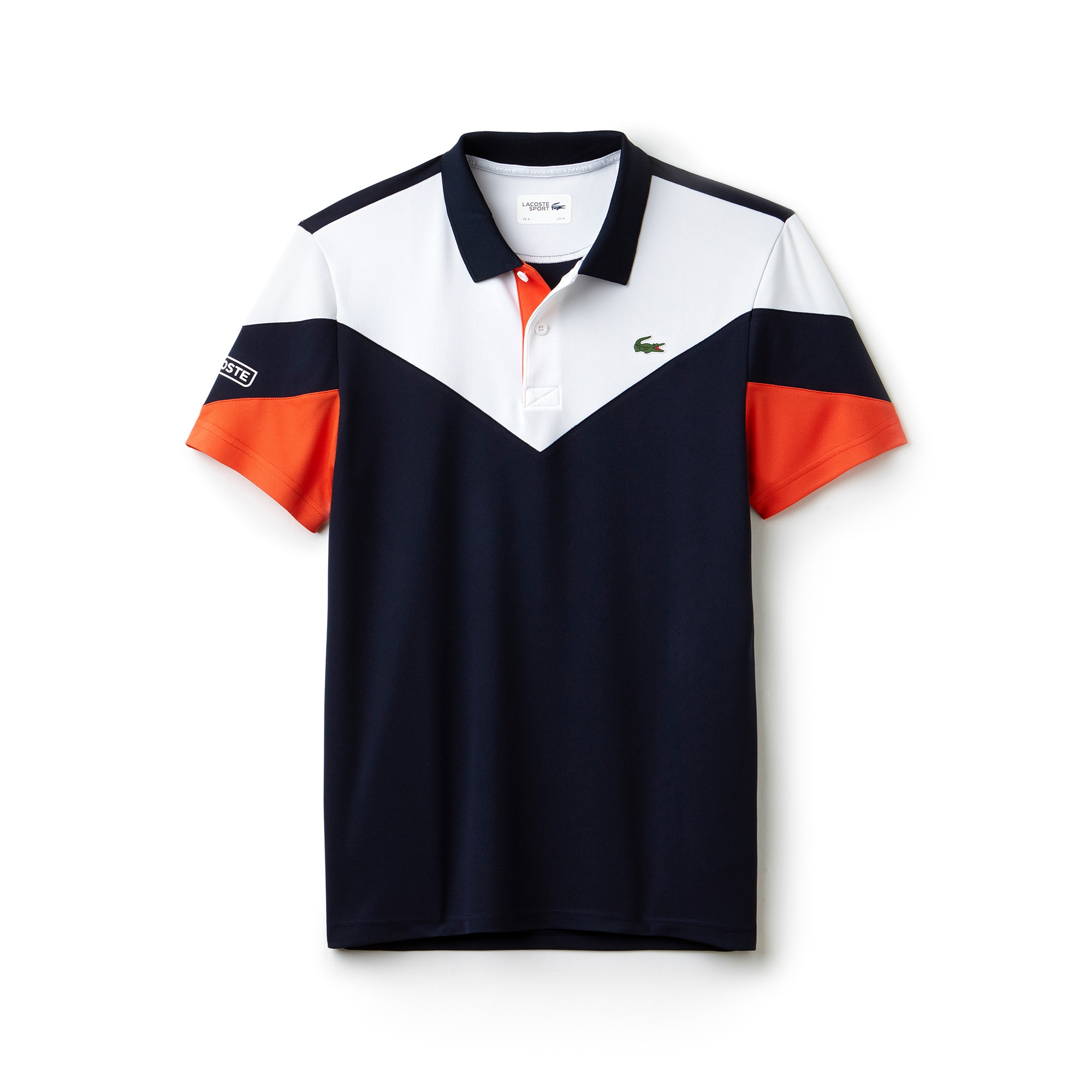 Herren-Funktions-Polo mit Colorblocks LACOSTE SPORT TENNIS