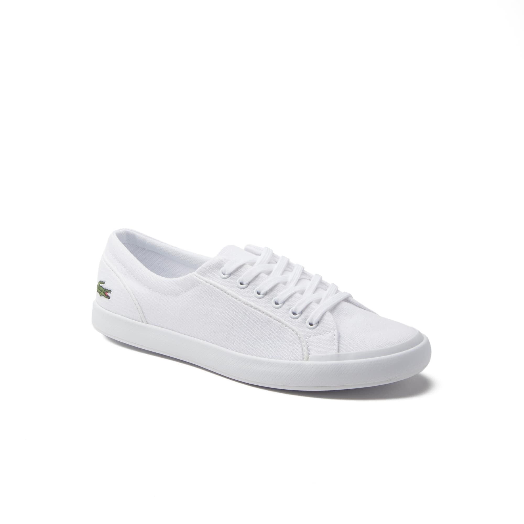 Low-Rise Damen-Sneakers LANCELLE aus Canvas