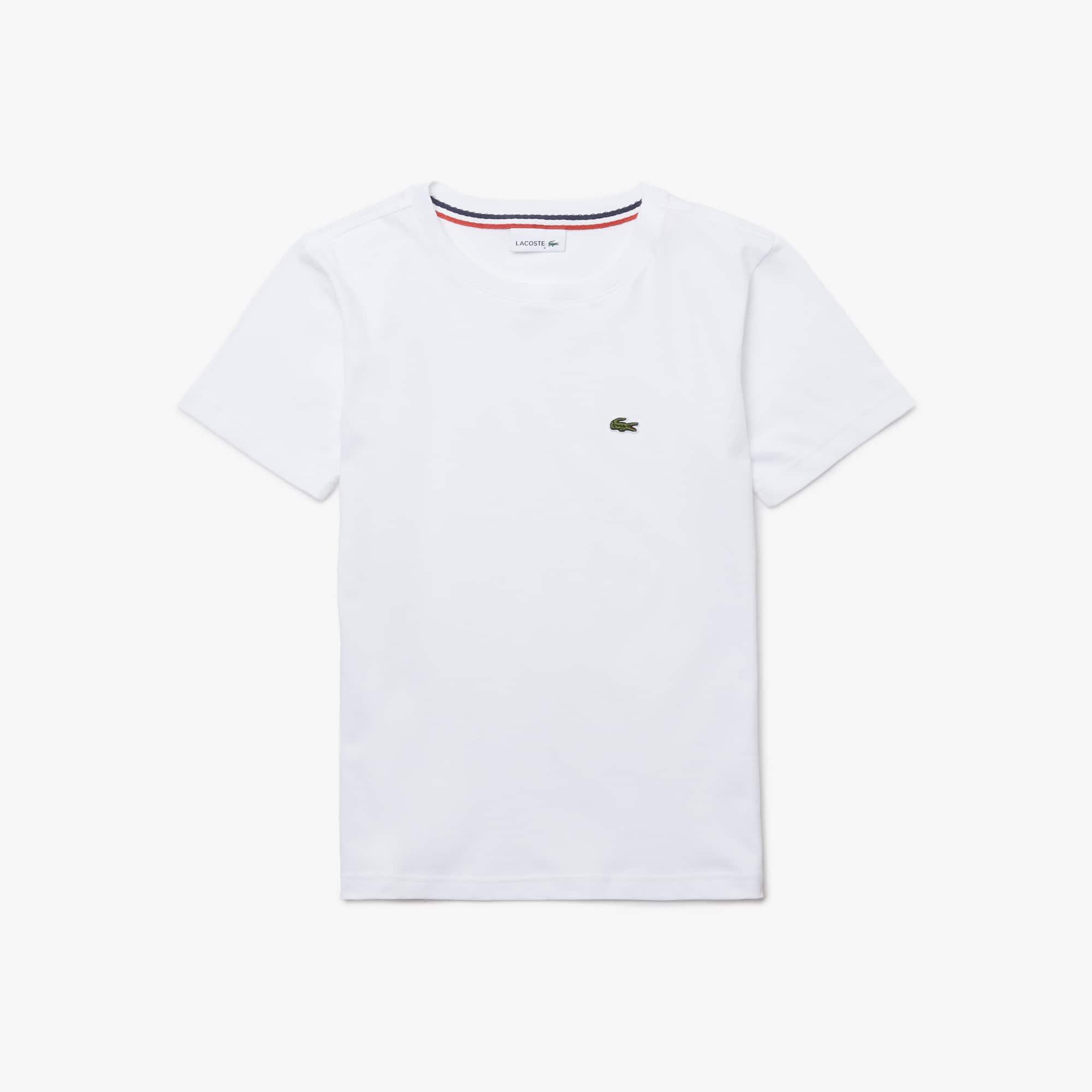 Jungen-Rundhals-Shirt aus Baumwolljersey