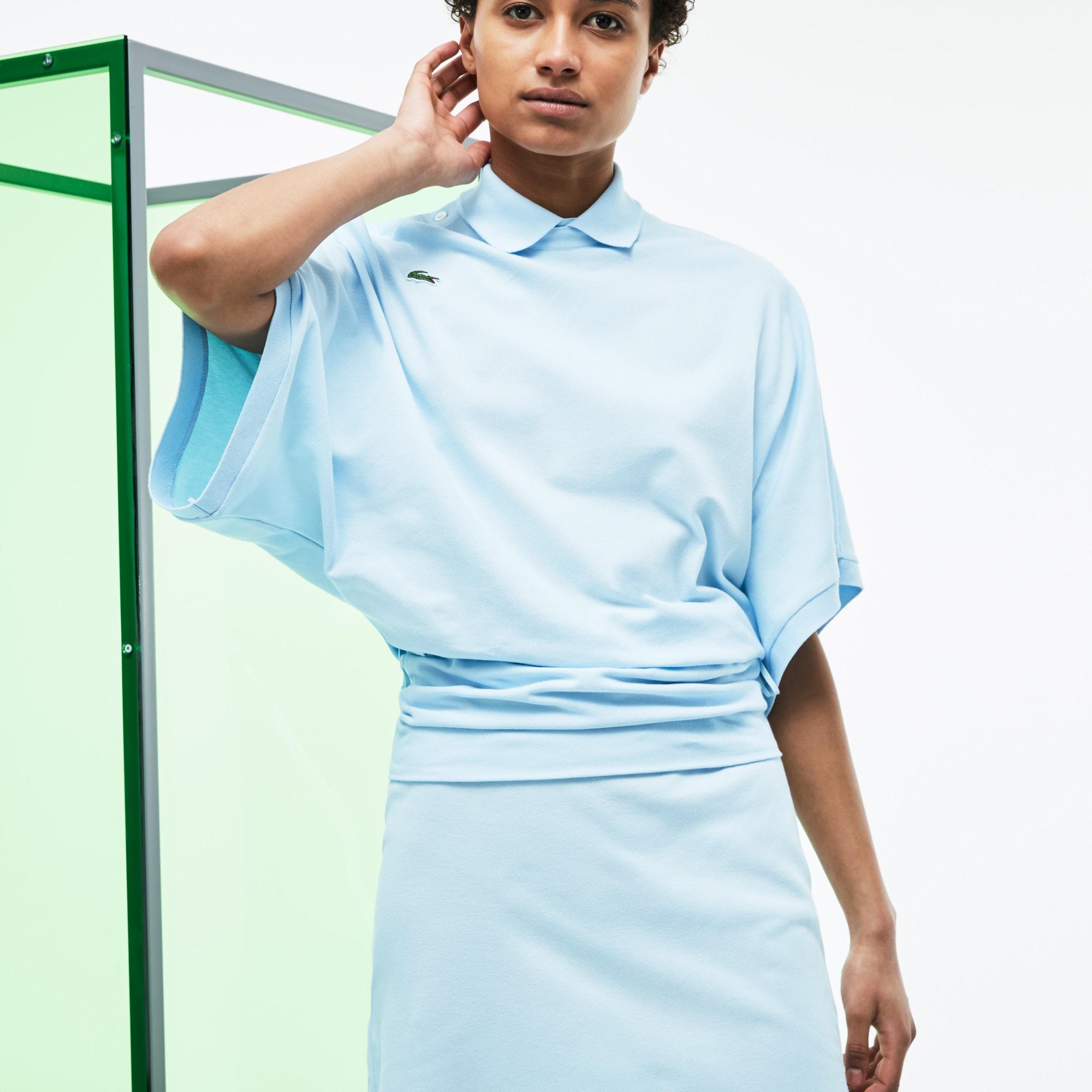Damen Loose-Fit Poloshirt aus der Fashion Show Kollektion