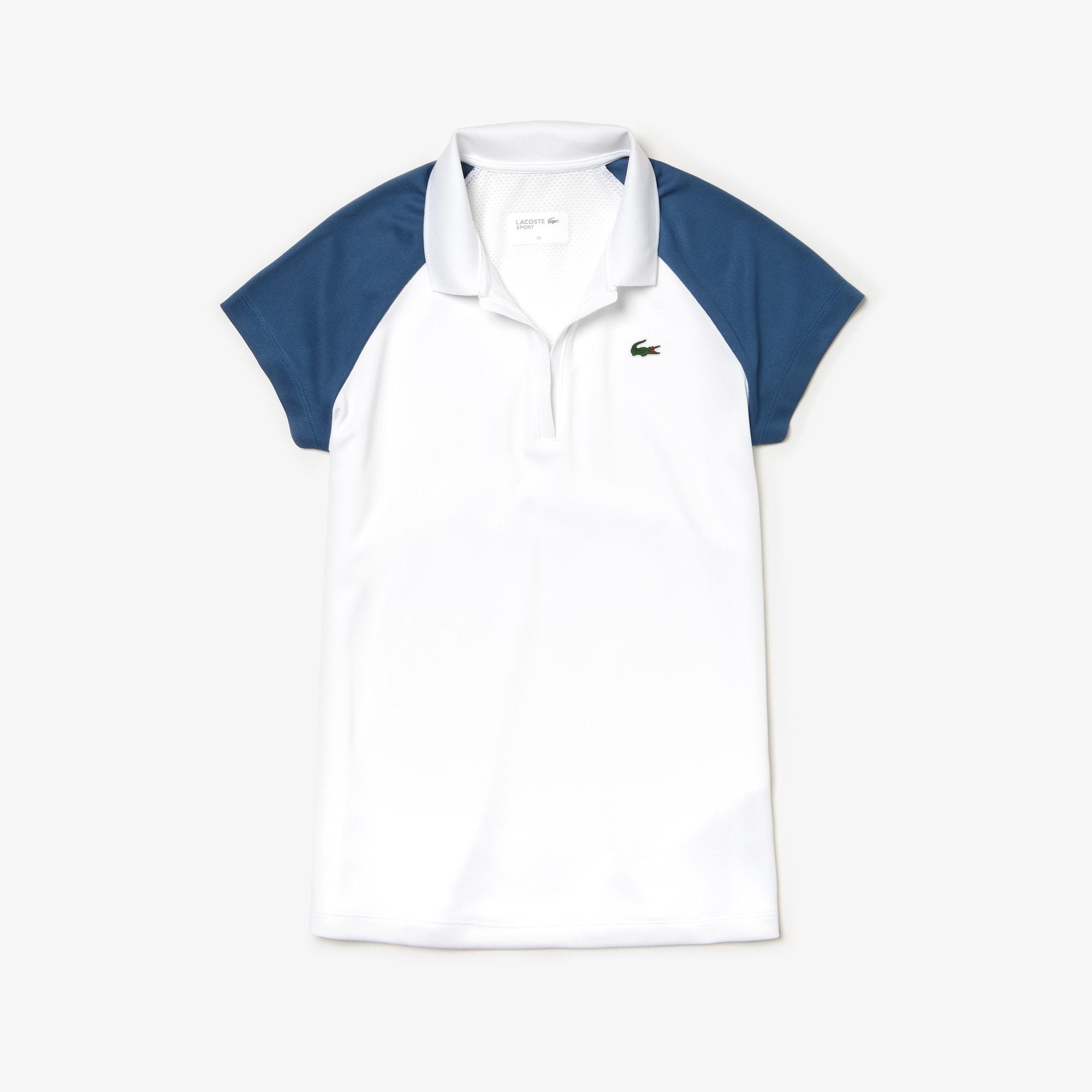 quality design 88f65 89fc7 Damen LACOSTE SPORT Tennis Poloshirt aus Funktionspiqué und Mesh