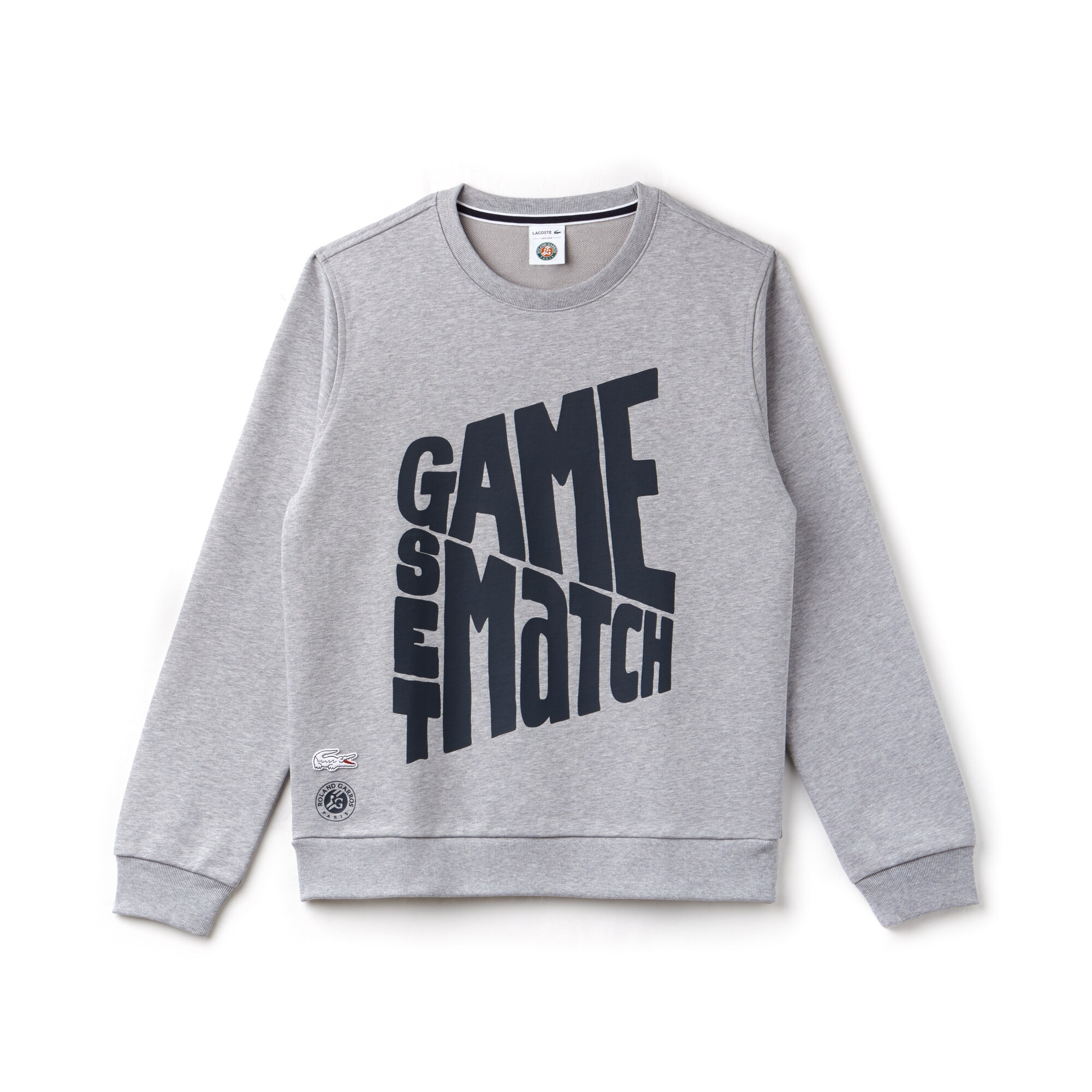 Herren LACOSTE SPORT Roland Garros Edition Design Sweatshirt