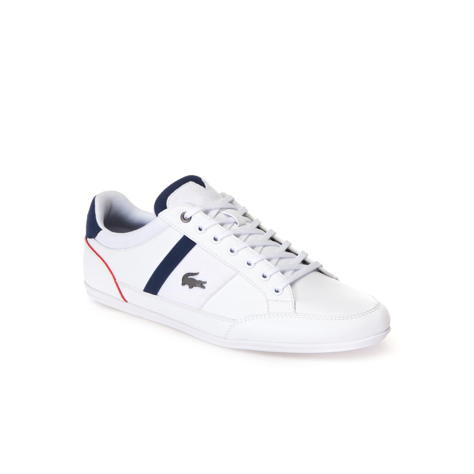Herren-Sneakers CHAYMON aus Nappaleder und Mesh