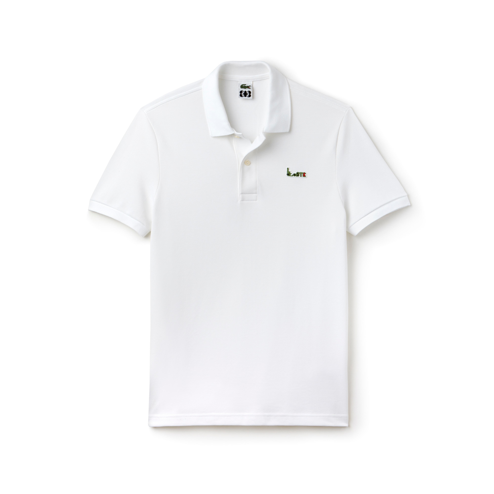 Slim Fit Herren-Poloshirt MM COLLAB aus dickem Baumwoll-Piqué
