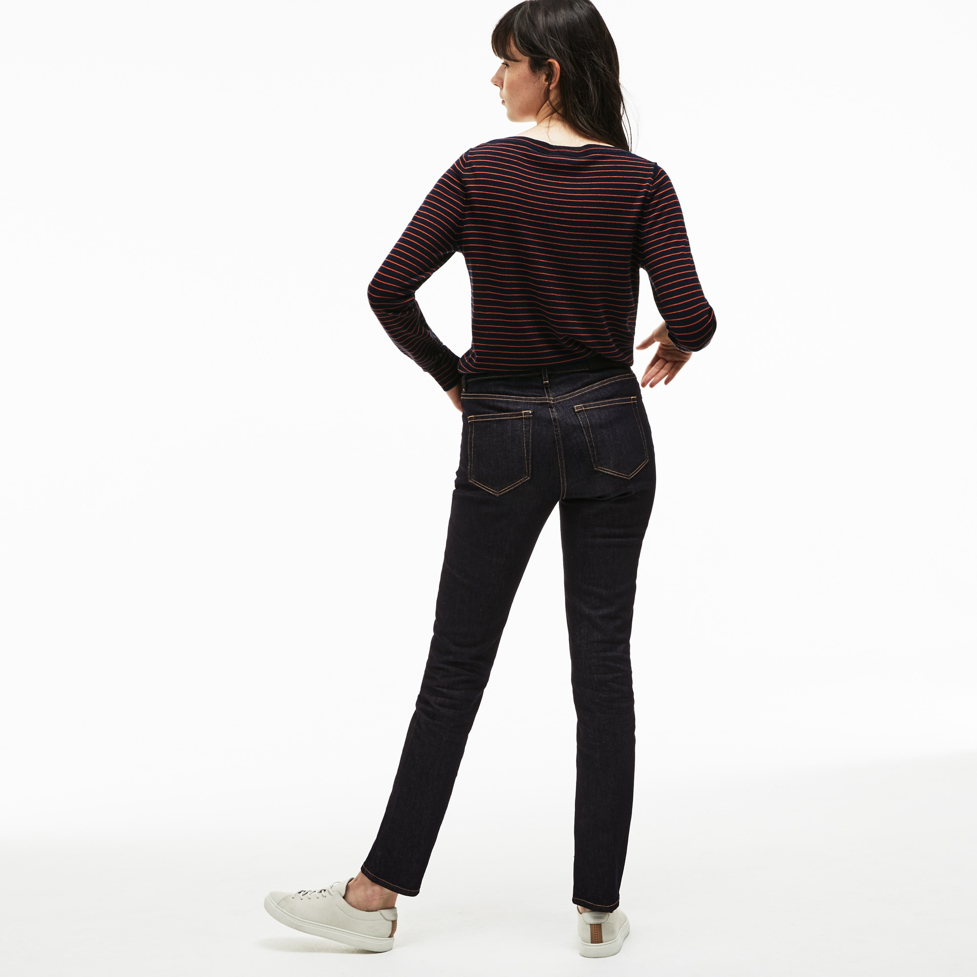 Damen Denim-Jeans aus Stretch-Baumwolle Slim Fit