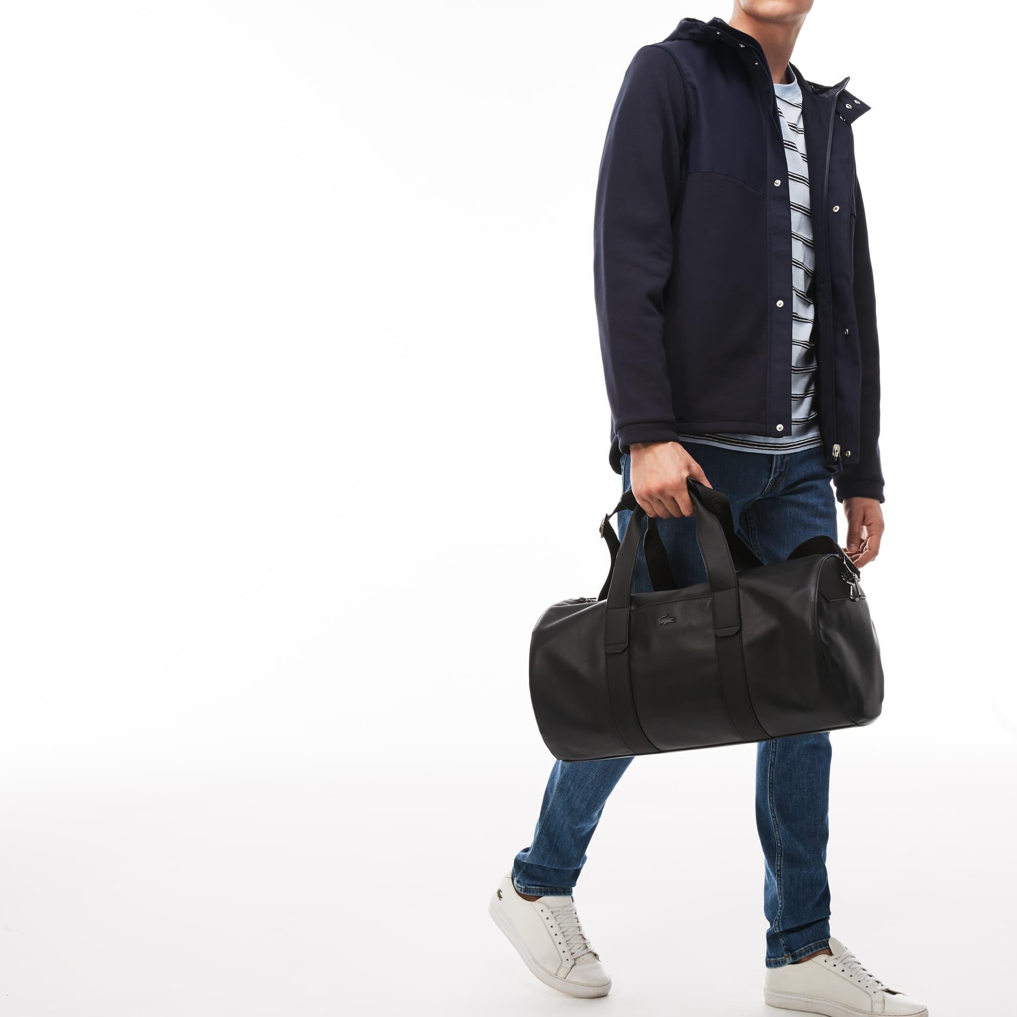 Herren Full Ace Leder Sporttasche