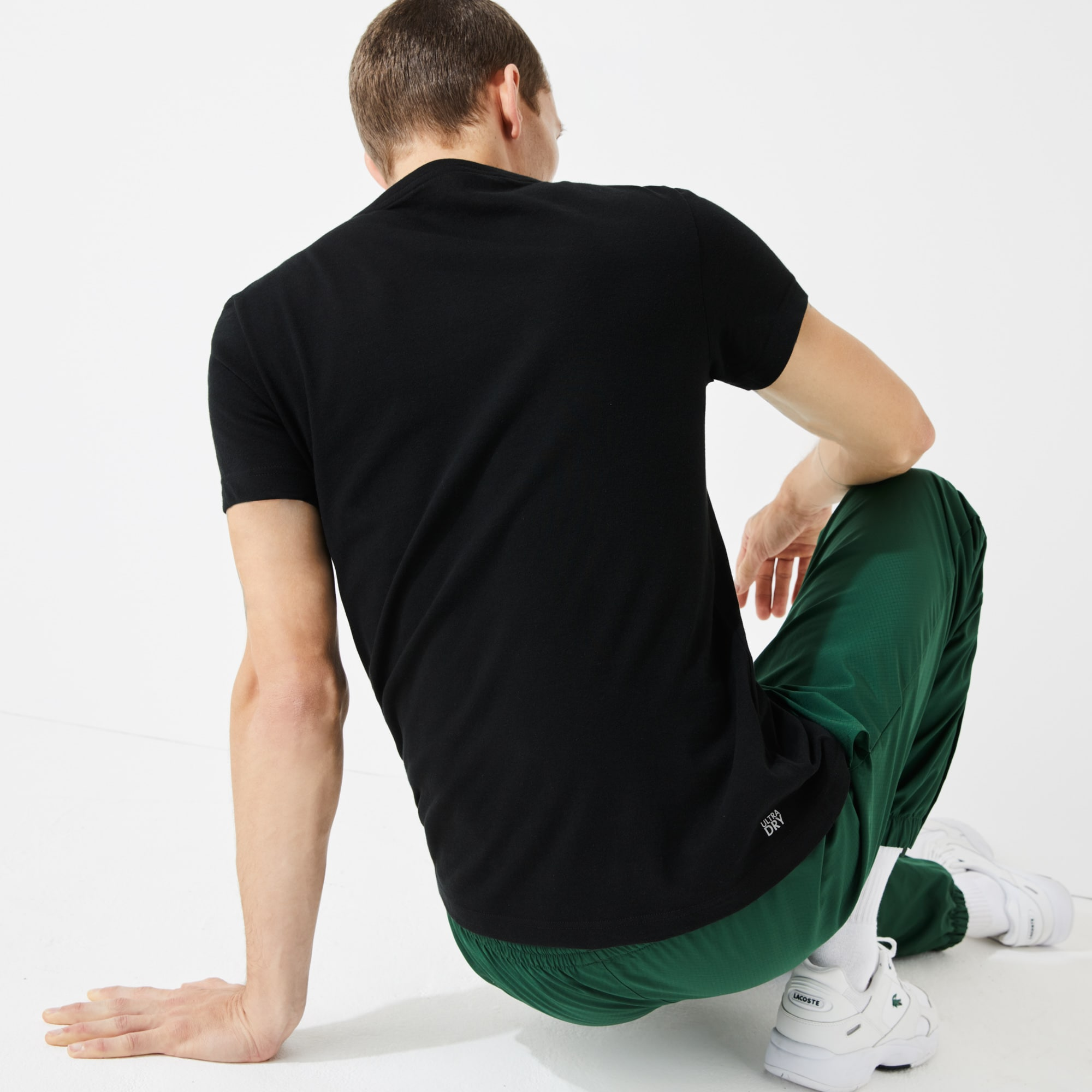 Herren Lacoste Sport T Shirt Funktionsjersey Lacoste