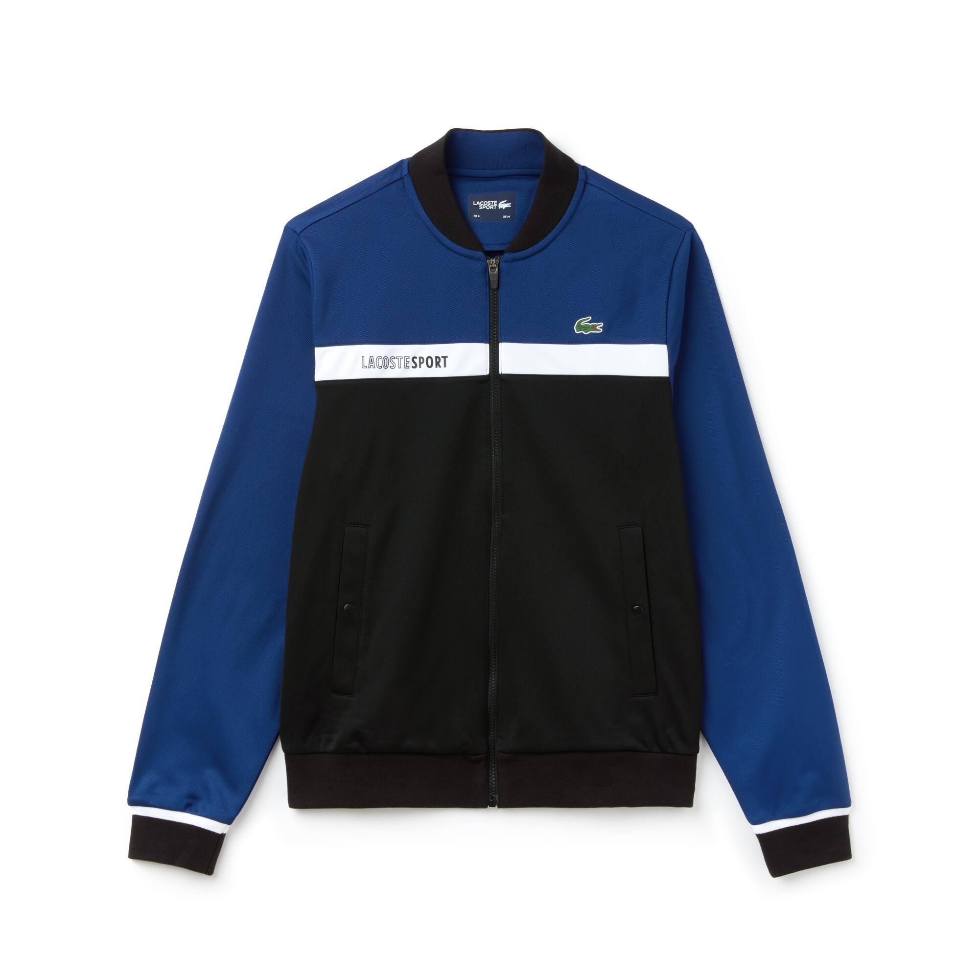 Herren LACOSTE SPORT Tennis-Sweatshirt mit Colorblocks