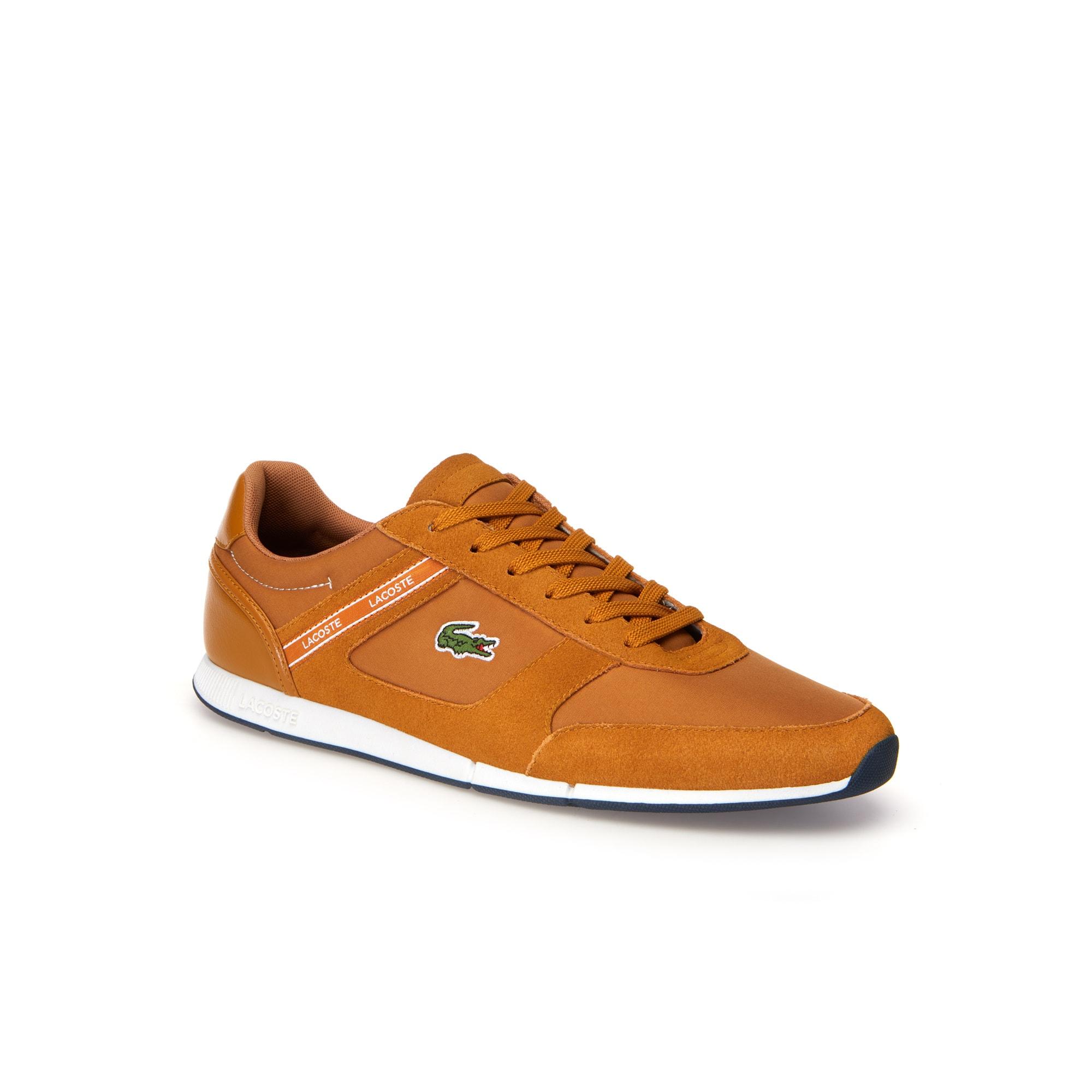Herren-Sneakers MENERVA aus Veloursleder LACOSTE SPORT