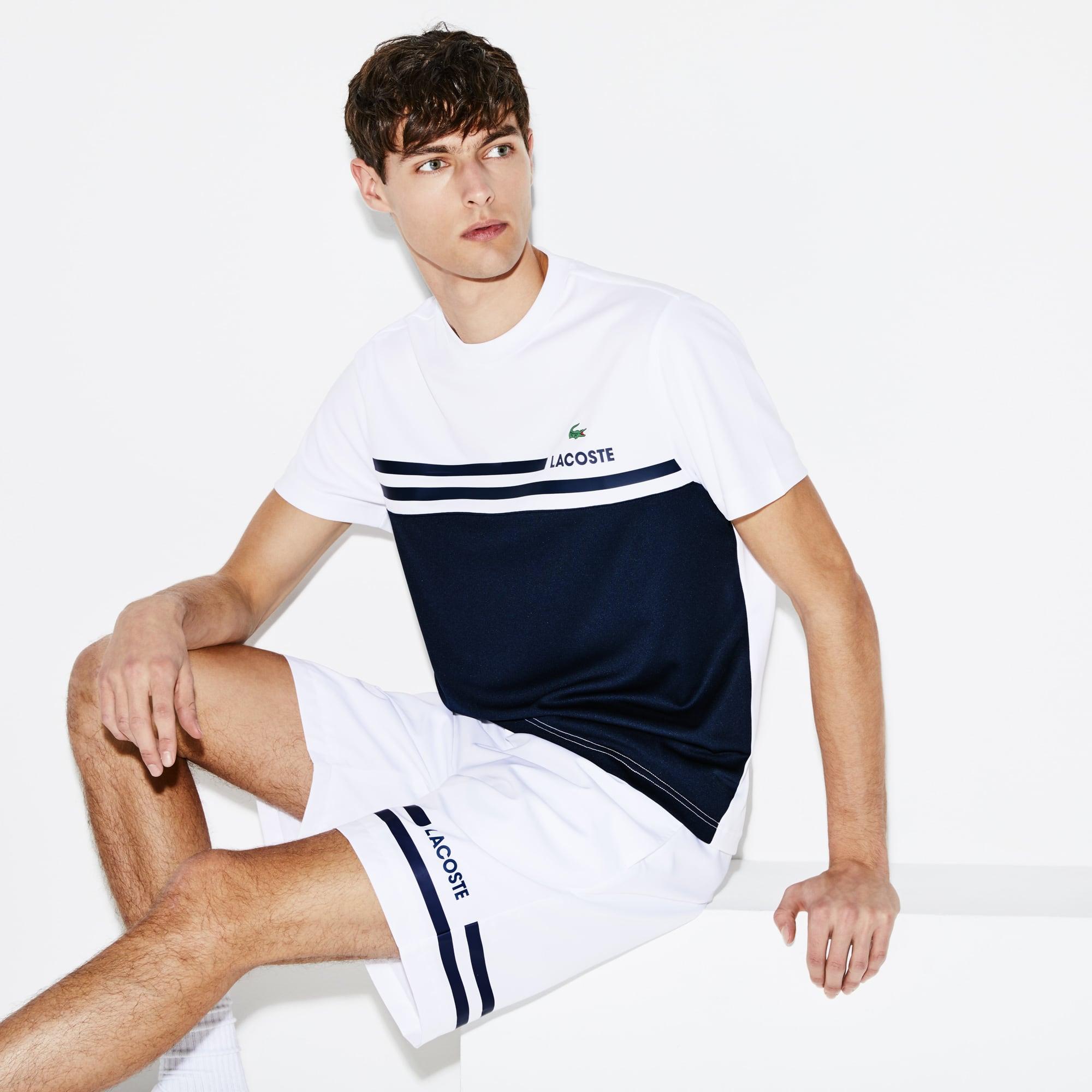 Herren-T-Shirt aus Piqué mit Colorblocks LACOSTE SPORT TENNIS